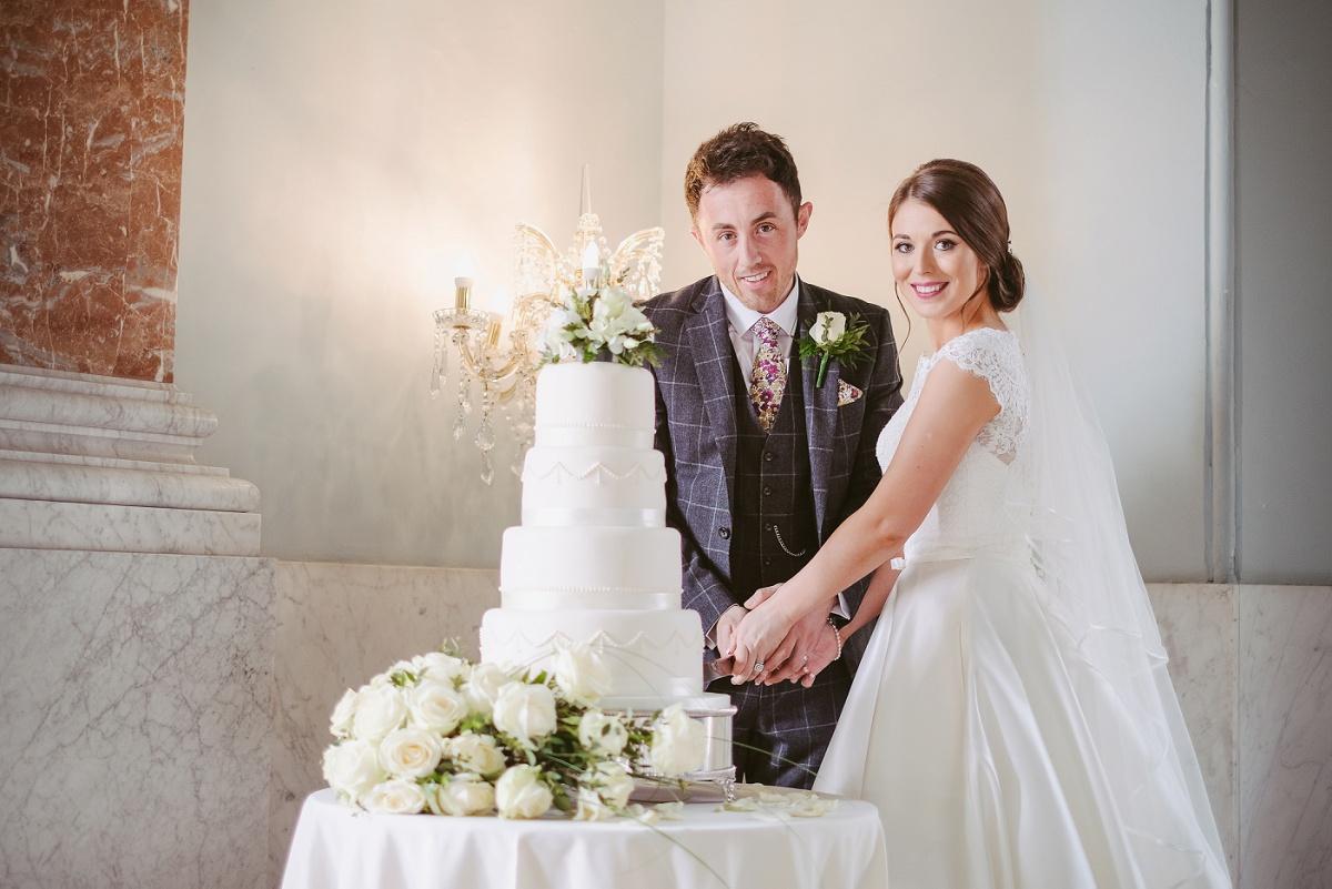 allure bridals for a classic wedding at wynyard hall unveiled