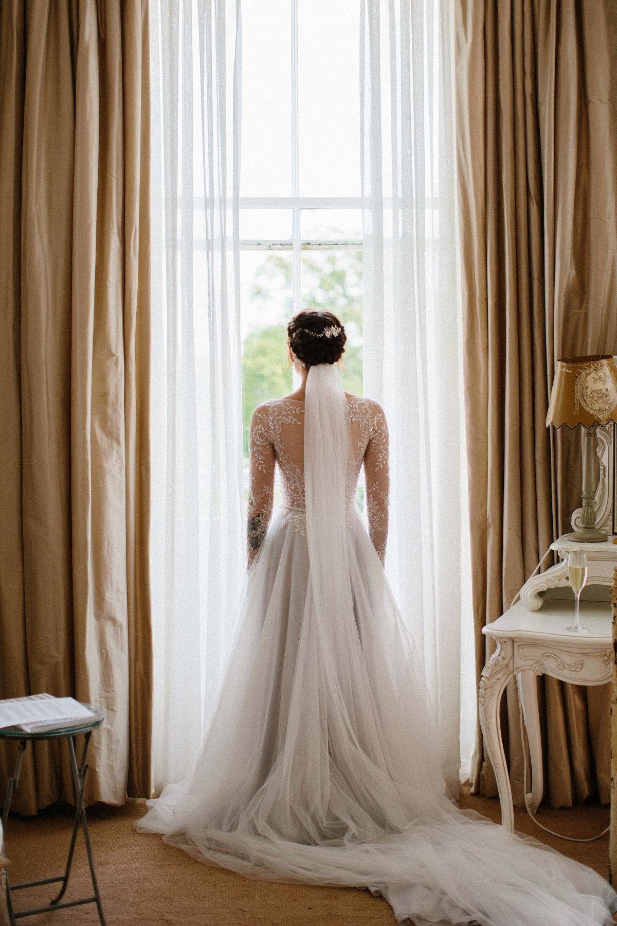 An Elegant Wedding at Lartington Hall (c) Melissa Beattie (12)