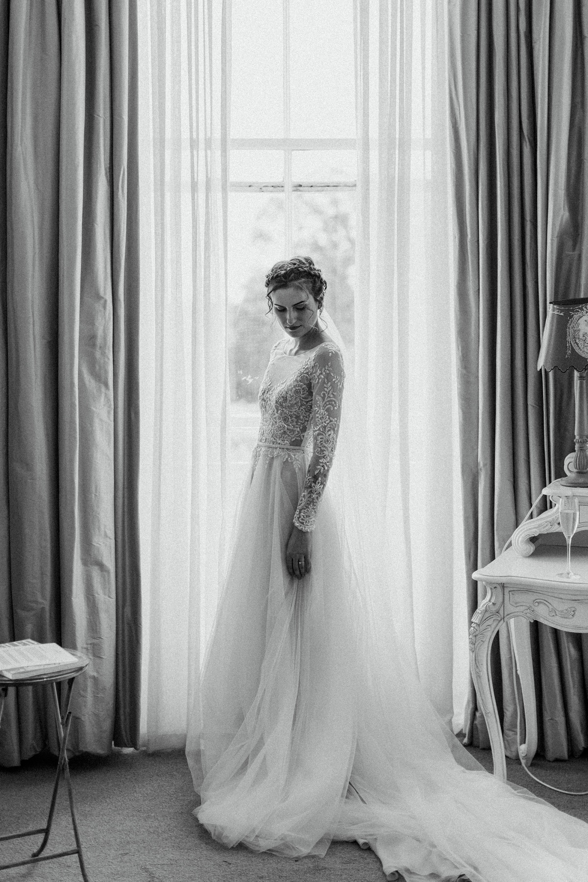An Elegant Wedding at Lartington Hall (c) Melissa Beattie (13)