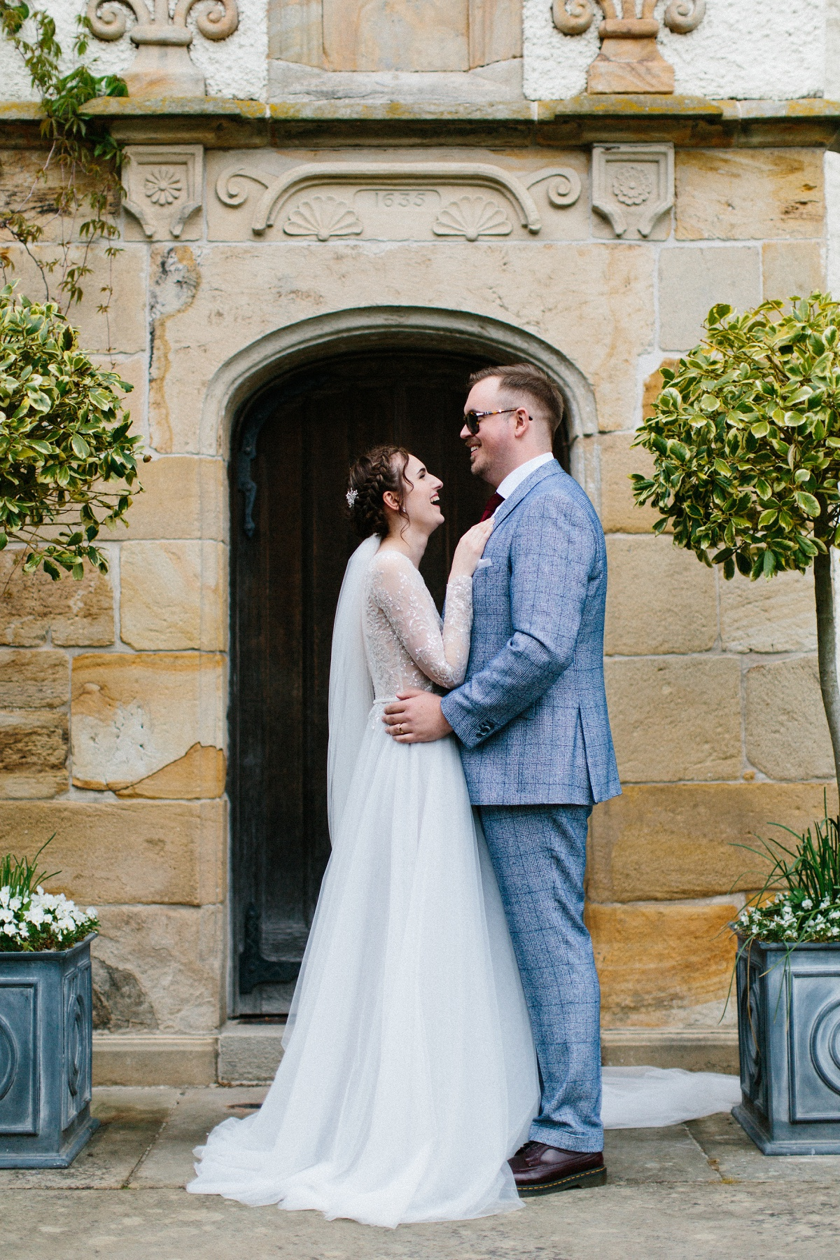An Elegant Wedding at Lartington Hall (c) Melissa Beattie (21)