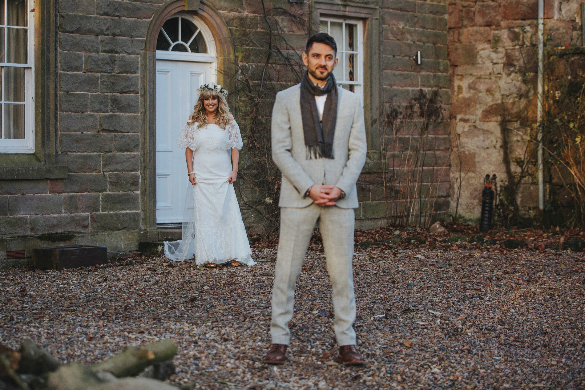 A New Year Wedding at Charlton Hall (c) David West Photography (25)