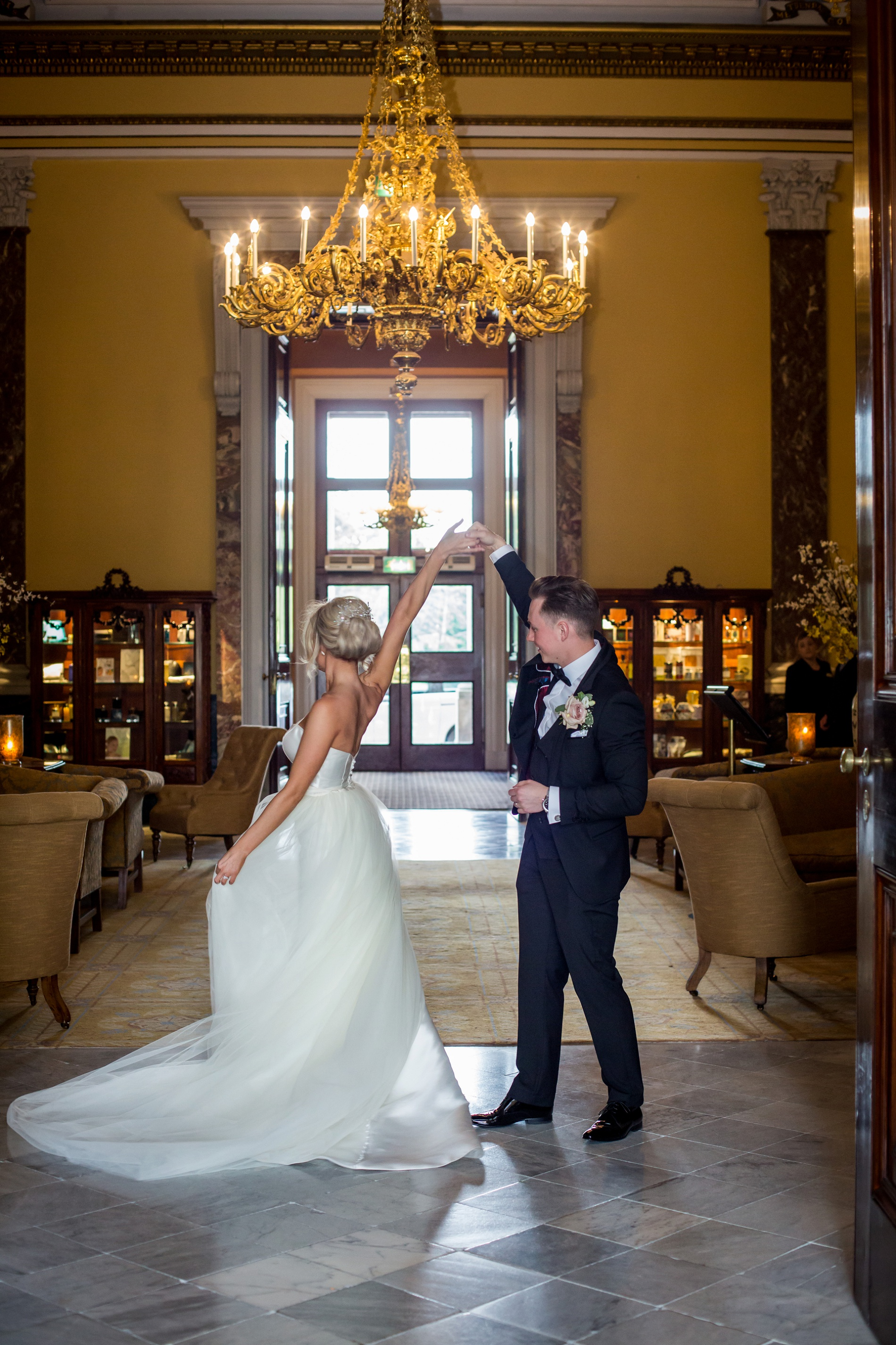 An Elegant Wedding at Wynyard Hall (c) Focal Point Photography (46)