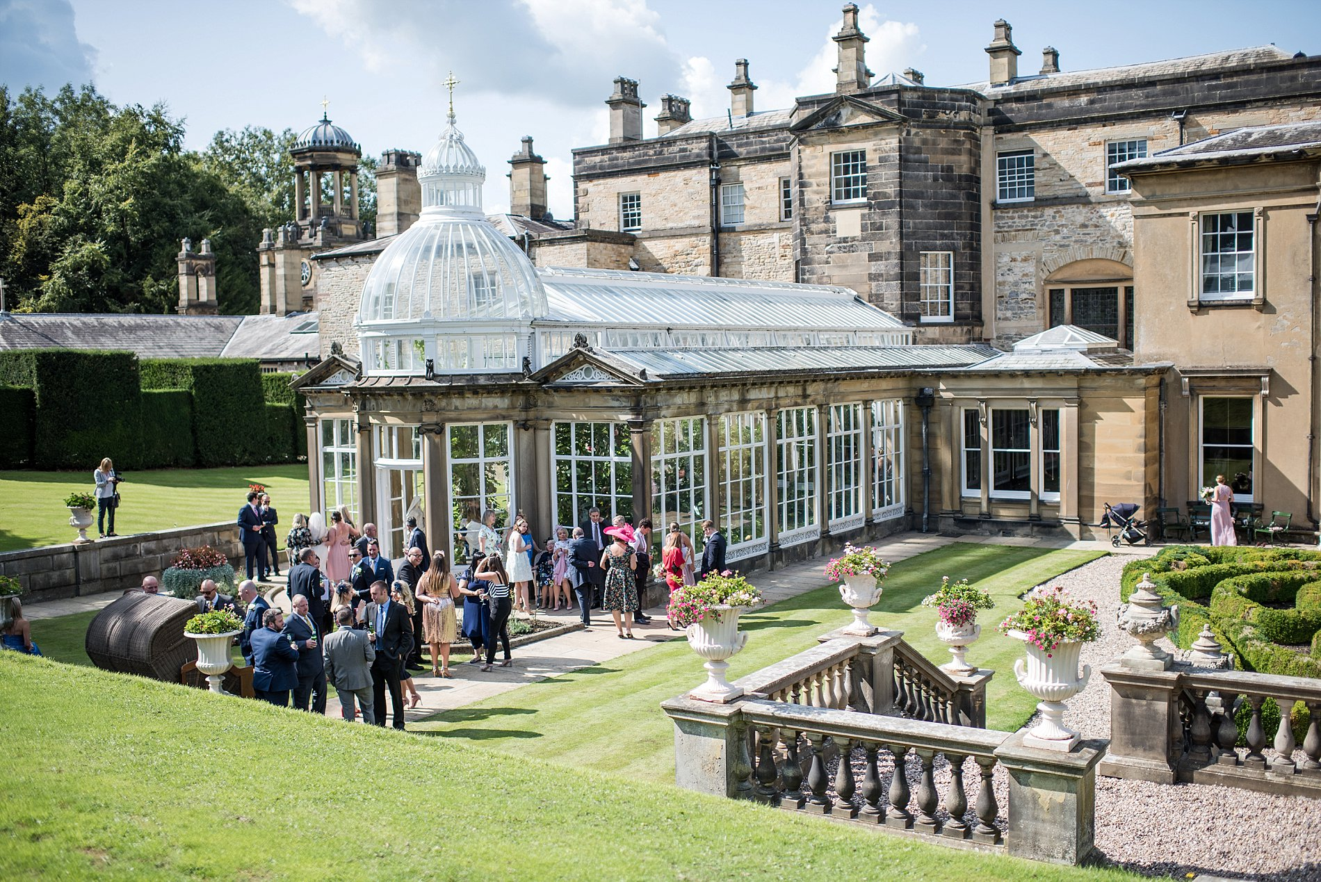 A Stylish Wedding at Broughton Hall (c) Jane Beadnell Photography (64)