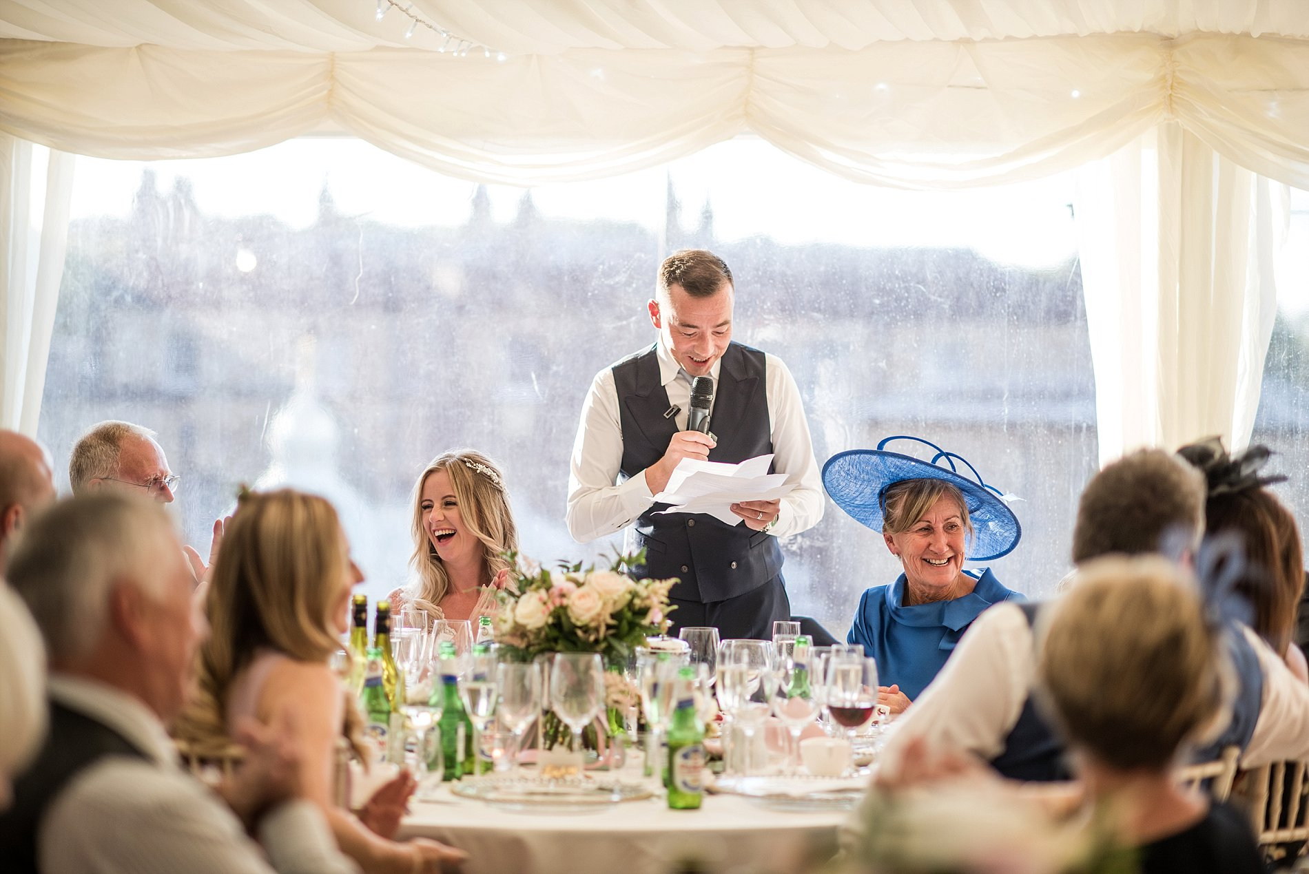 A Stylish Wedding at Broughton Hall (c) Jane Beadnell Photography (79)