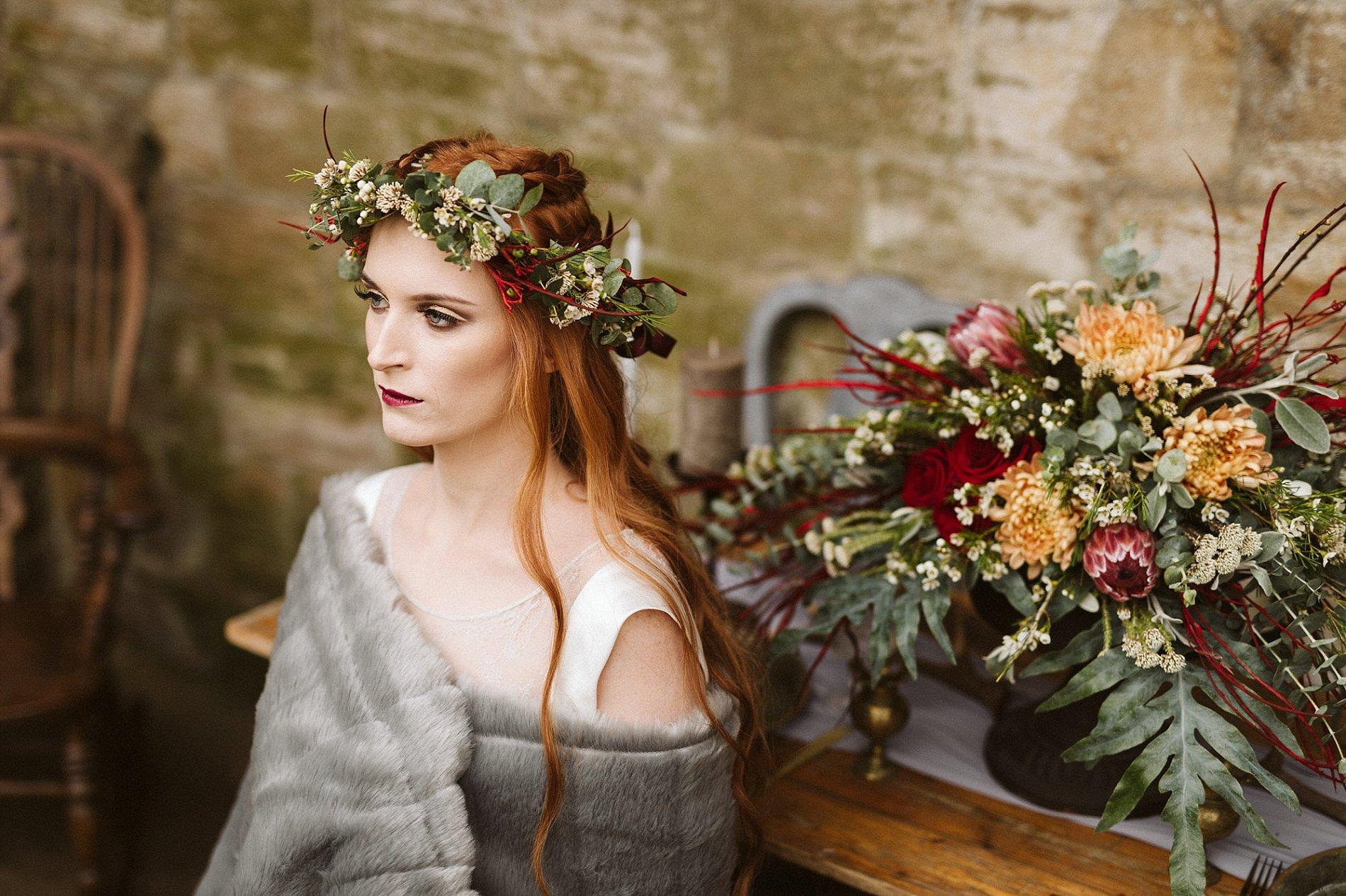 Game of Thrones Creative Bridal Shoot (c) Freya Raby (18)
