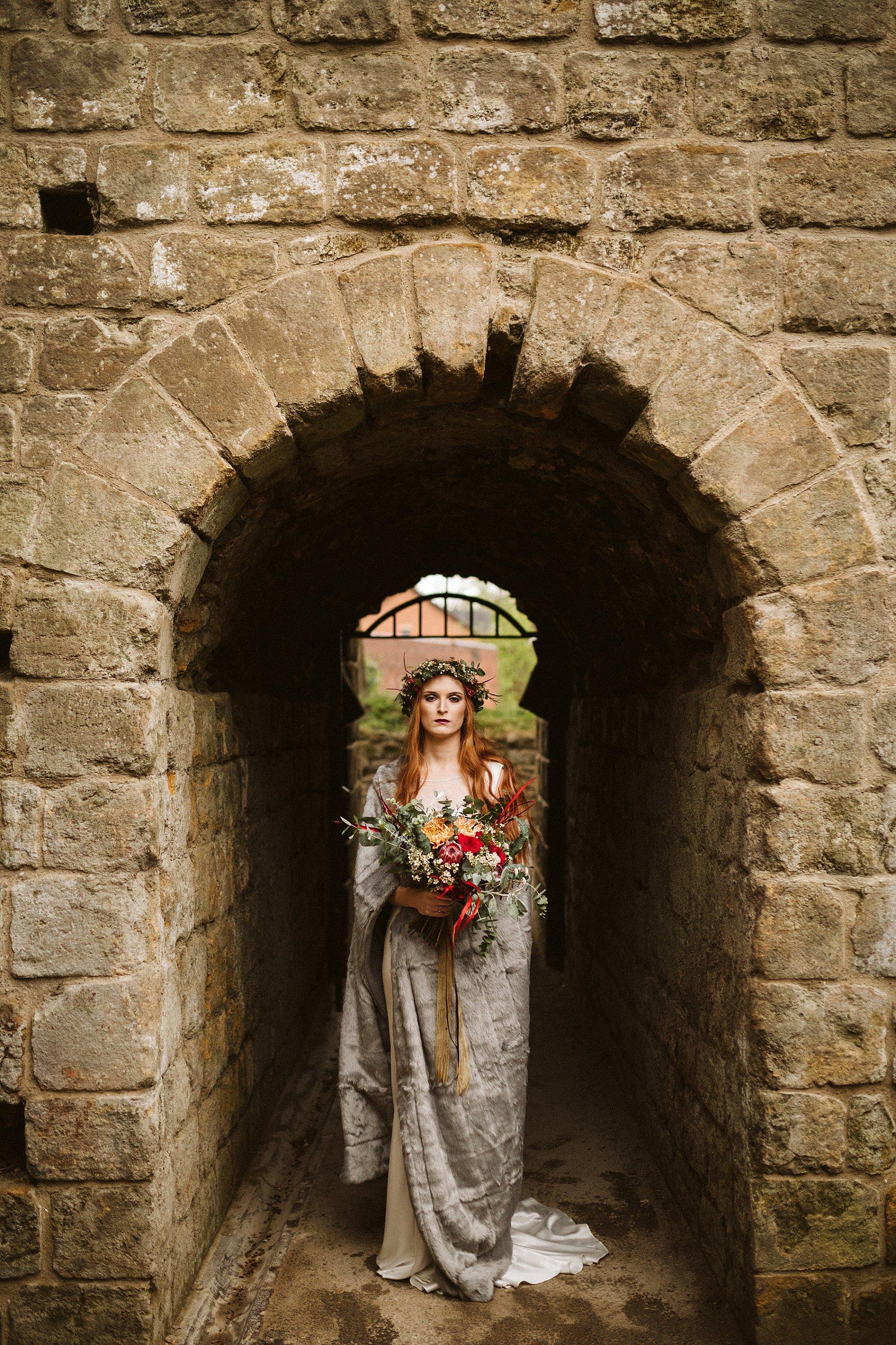 Game of Thrones Creative Bridal Shoot (c) Freya Raby (24)