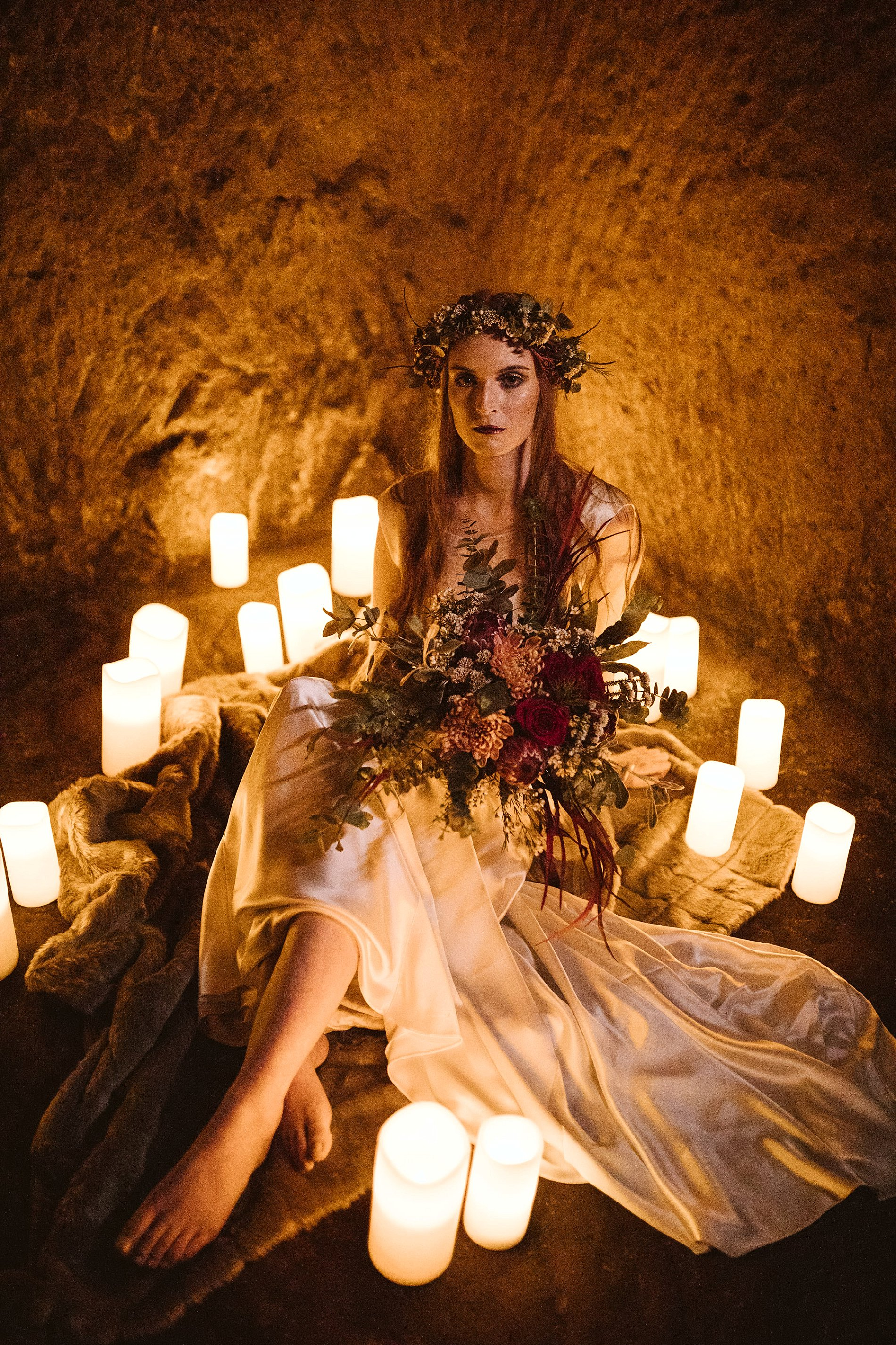 Game of Thrones Creative Bridal Shoot (c) Freya Raby (31)