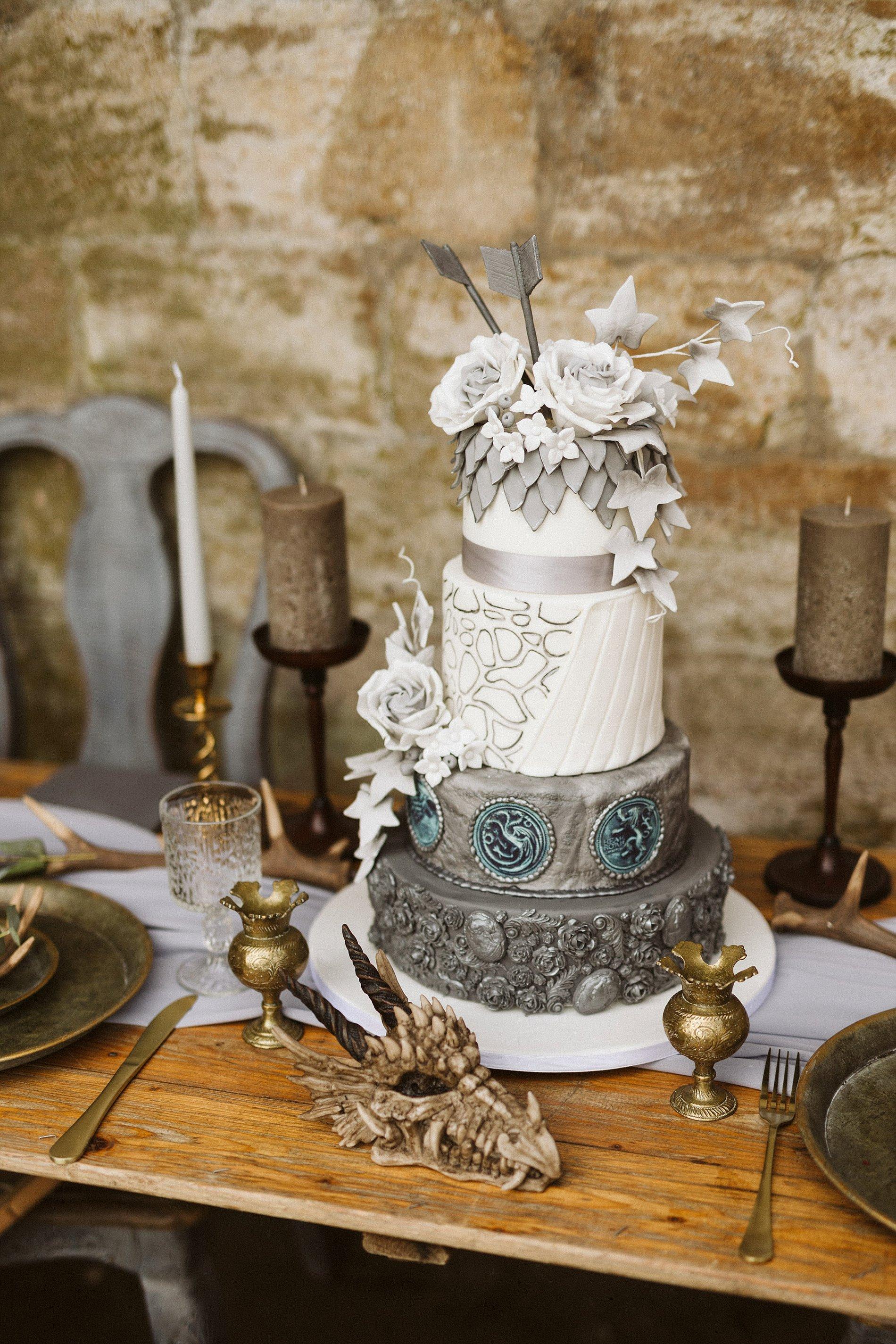 Game of Thrones Creative Bridal Shoot (c) Freya Raby (8)