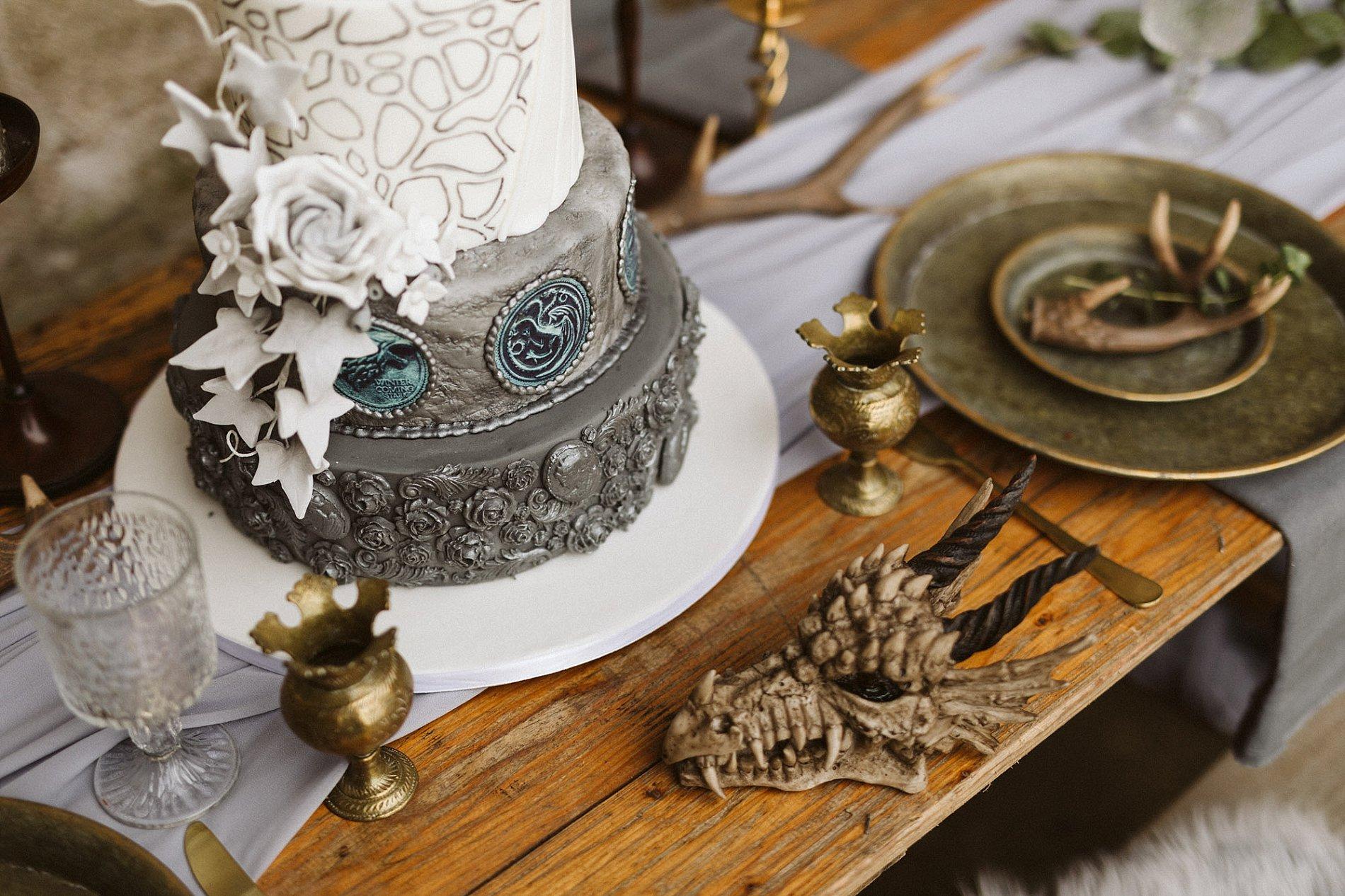 Game of Thrones Creative Bridal Shoot (c) Freya Raby (9)