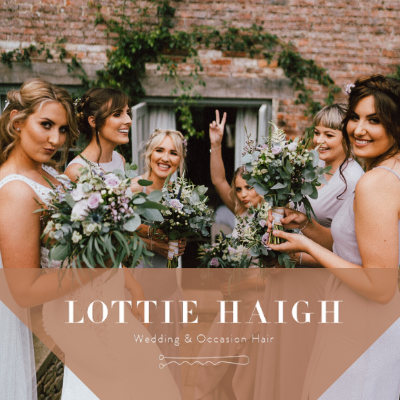 Lottie Haigh Wedding Hair