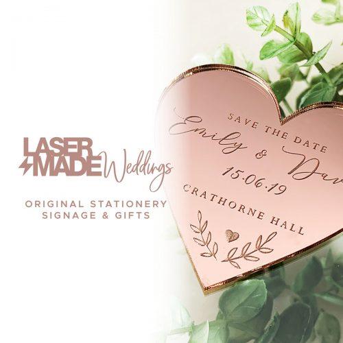 Laser Made Weddings