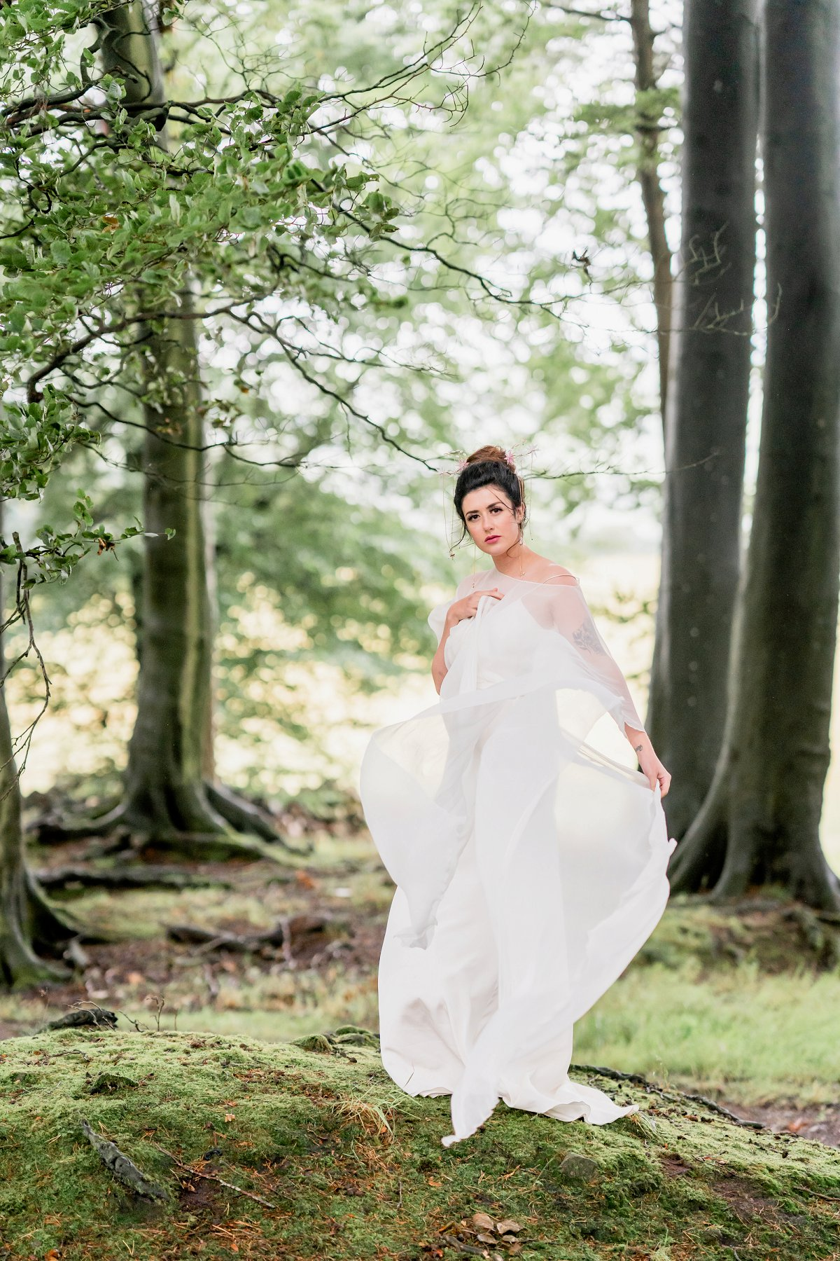 A Styled Woodland Wedding Shoot for Glorious By Heidi at Heaton House Farm (c) Charlotte Palazzo Photography (35)