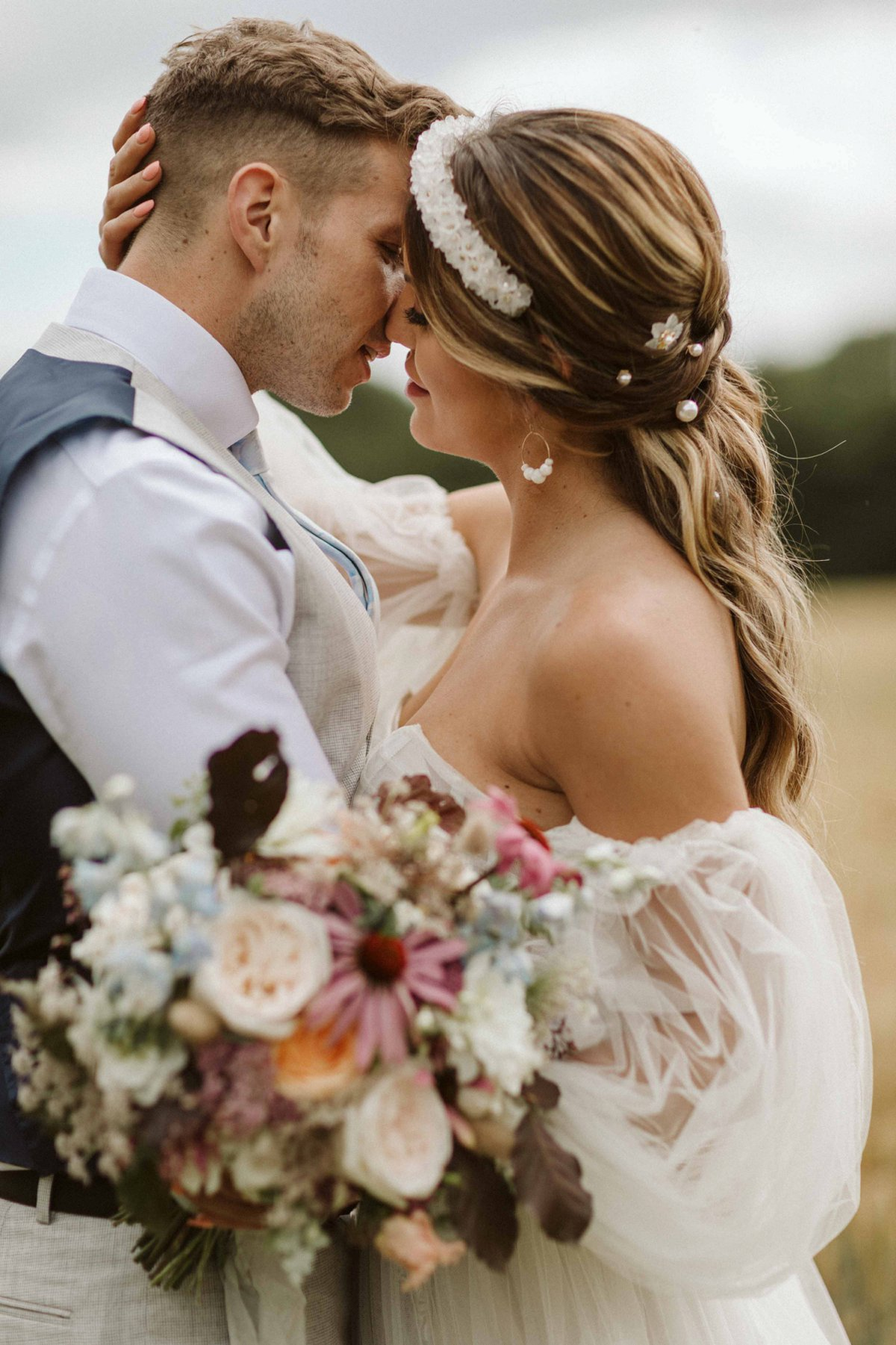 An Eclectic & Elegant Wedding Inspiration Shoot at Wold View Farm (c) Freya Raby Photography (15)