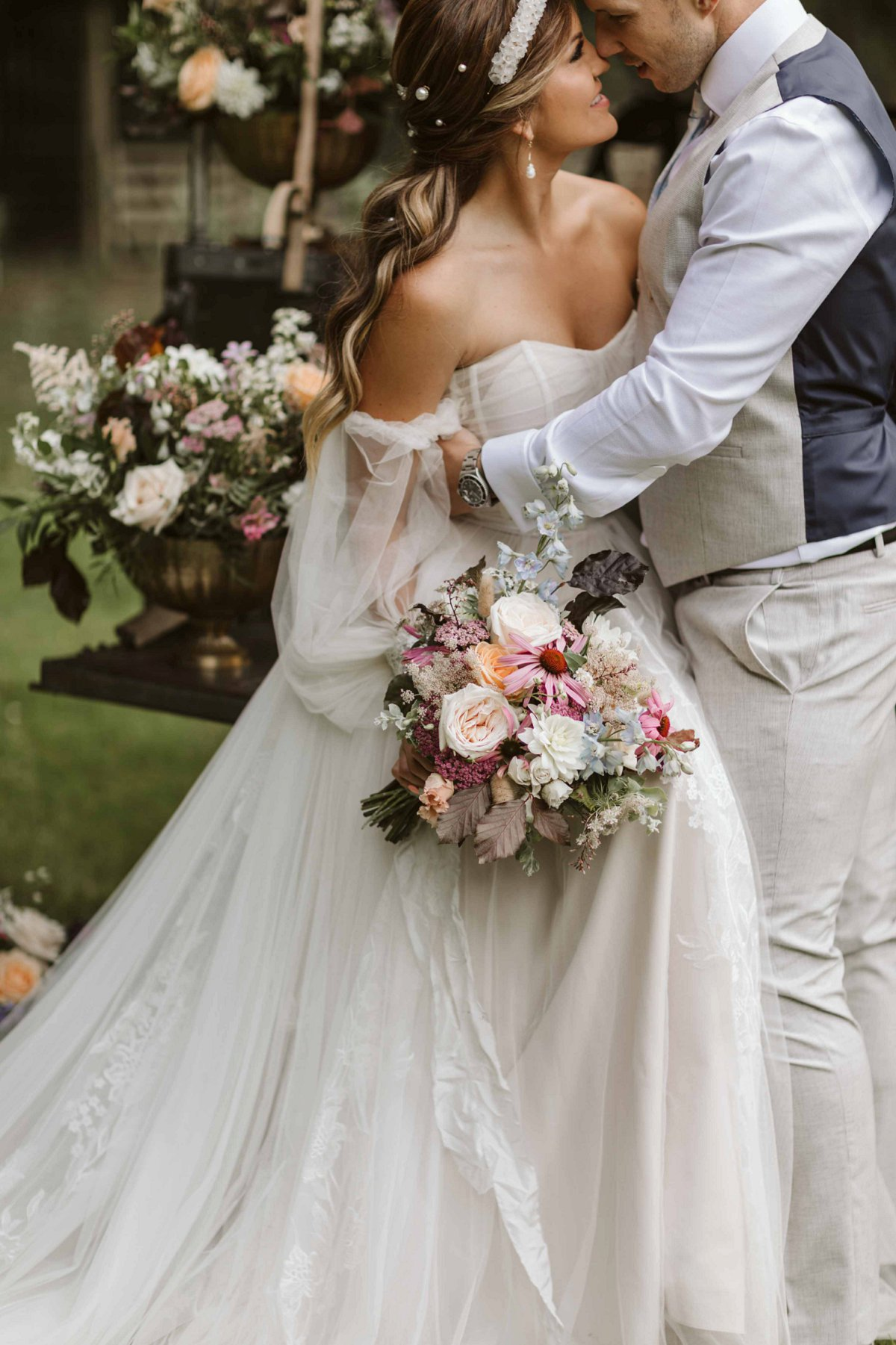 An Eclectic & Elegant Wedding Inspiration Shoot at Wold View Farm (c) Freya Raby Photography (21)