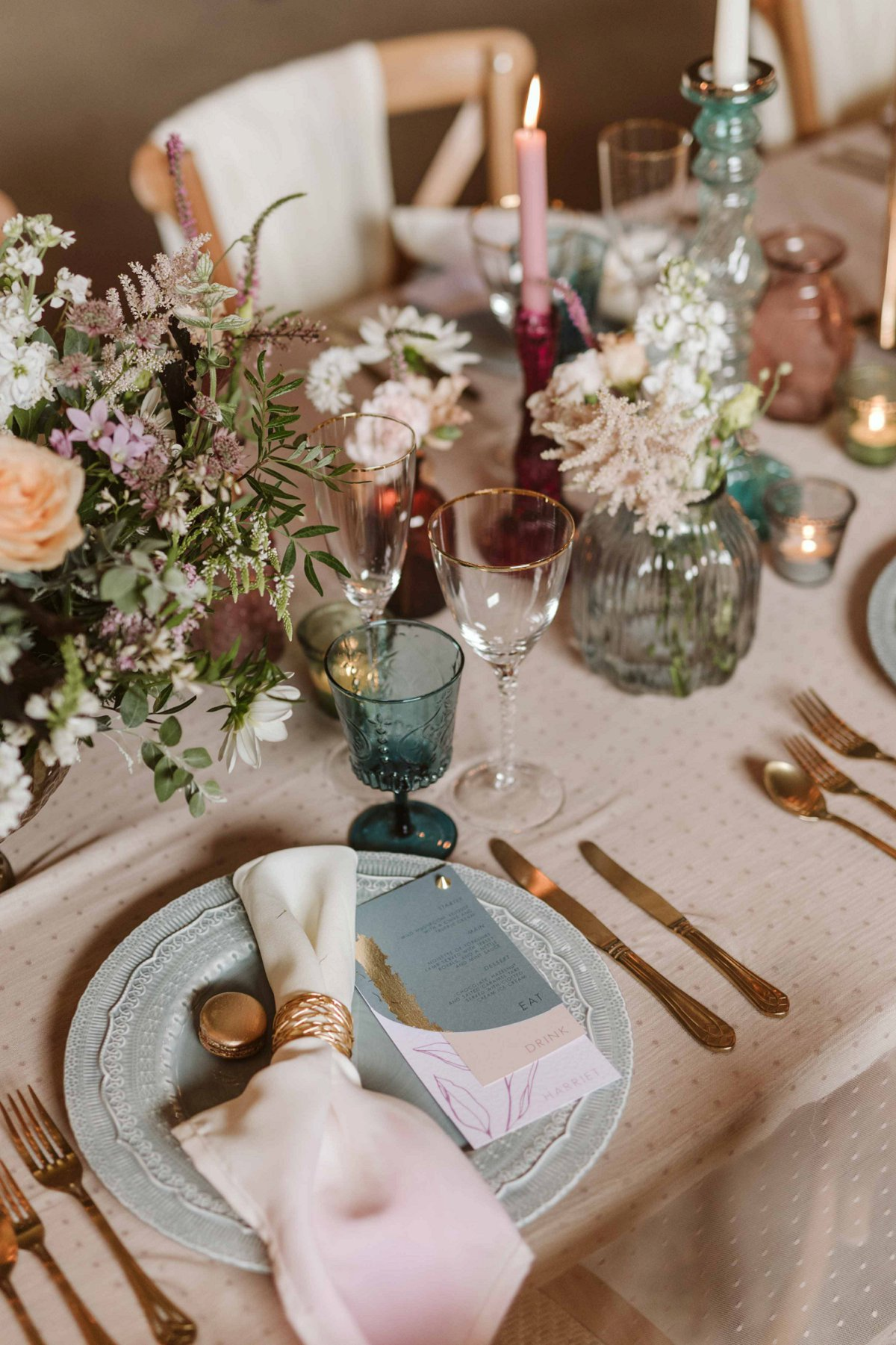 An Eclectic & Elegant Wedding Inspiration Shoot at Wold View Farm (c) Freya Raby Photography (36)