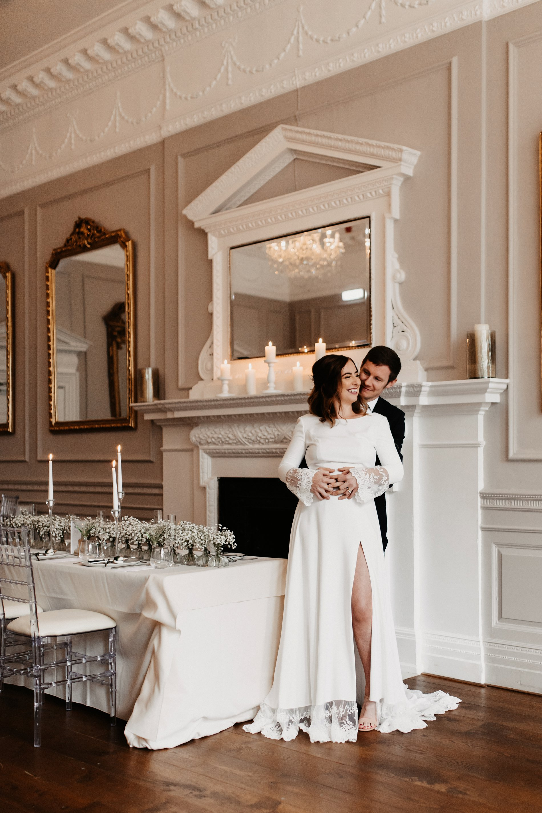 A Winter Micro Wedding Shoot at Bawtry Hall (c) Charlotte Nelson Photography (11)