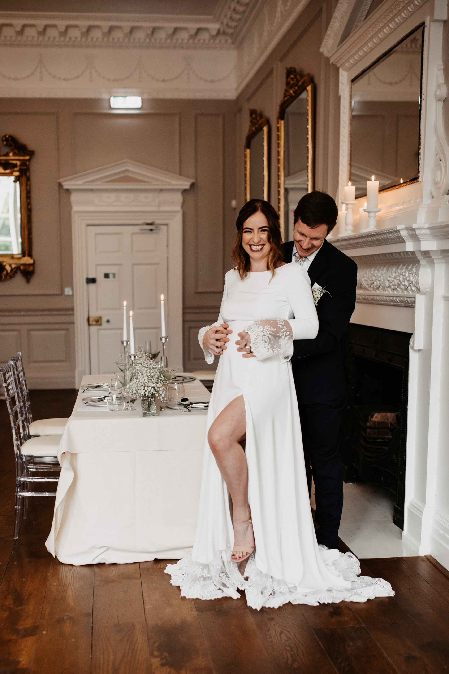 A Winter Micro Wedding Shoot at Bawtry Hall (c) Charlotte Nelson Photography (15)