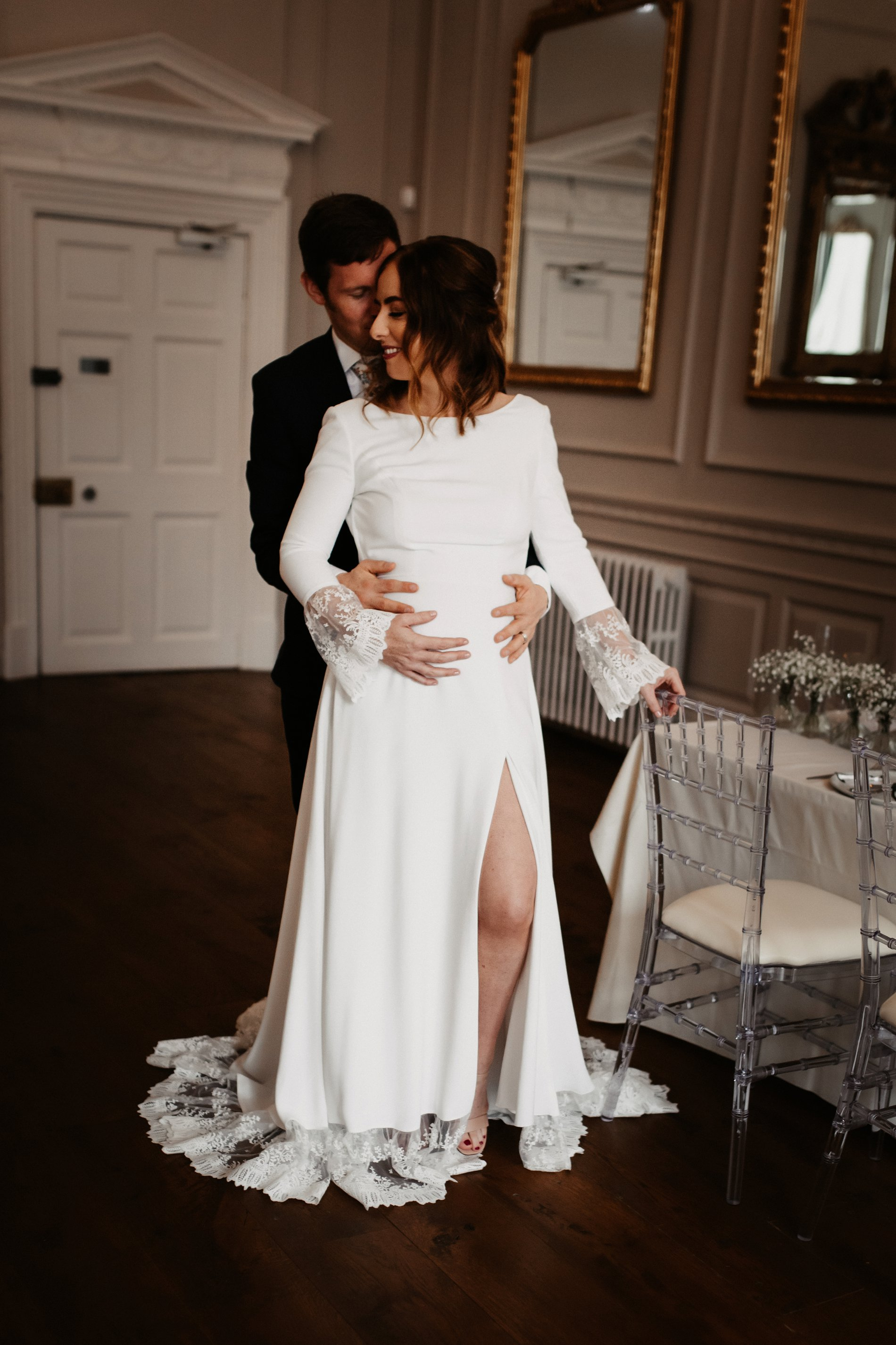 A Winter Micro Wedding Shoot at Bawtry Hall (c) Charlotte Nelson Photography (22)