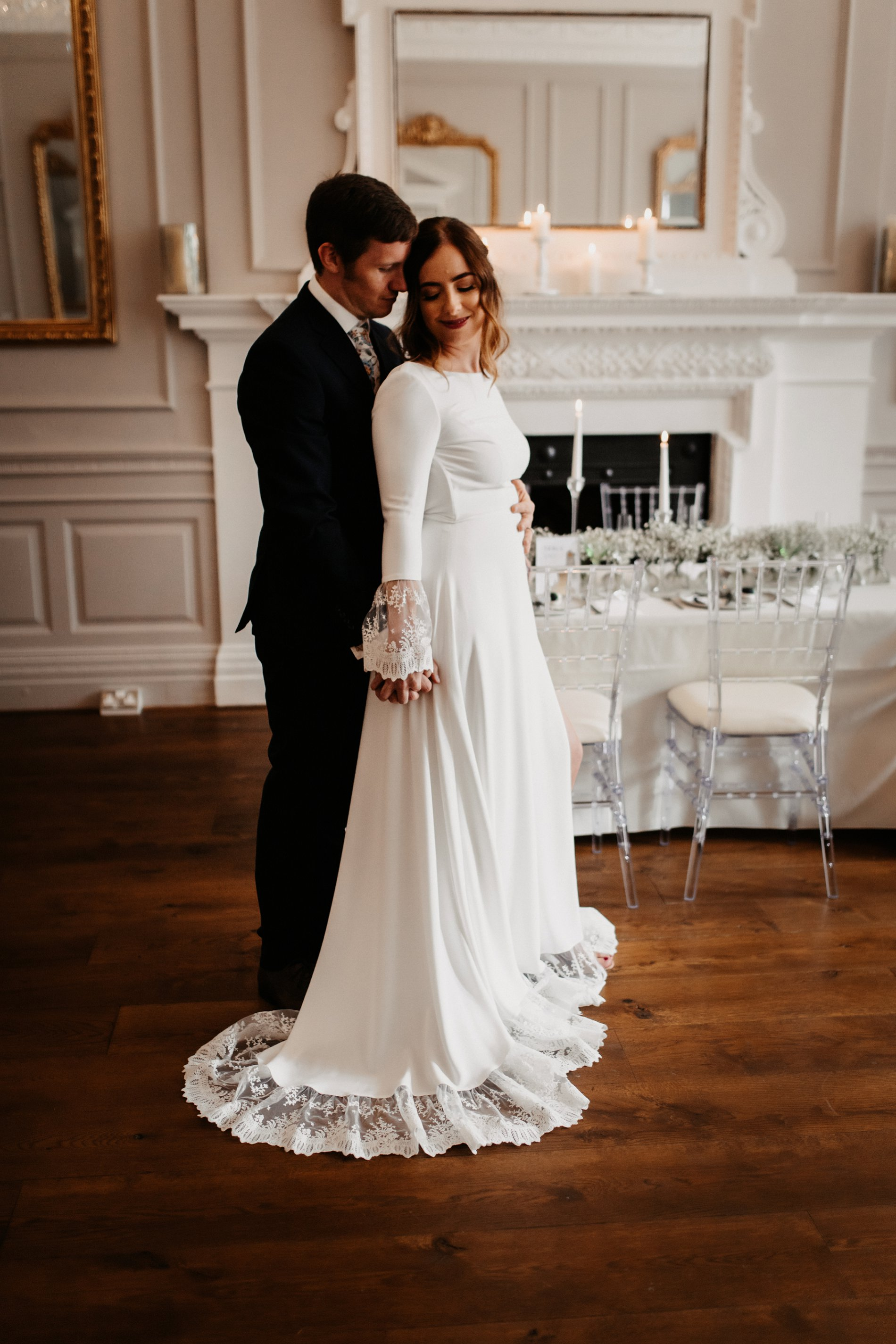 A Winter Micro Wedding Shoot at Bawtry Hall (c) Charlotte Nelson Photography (25)