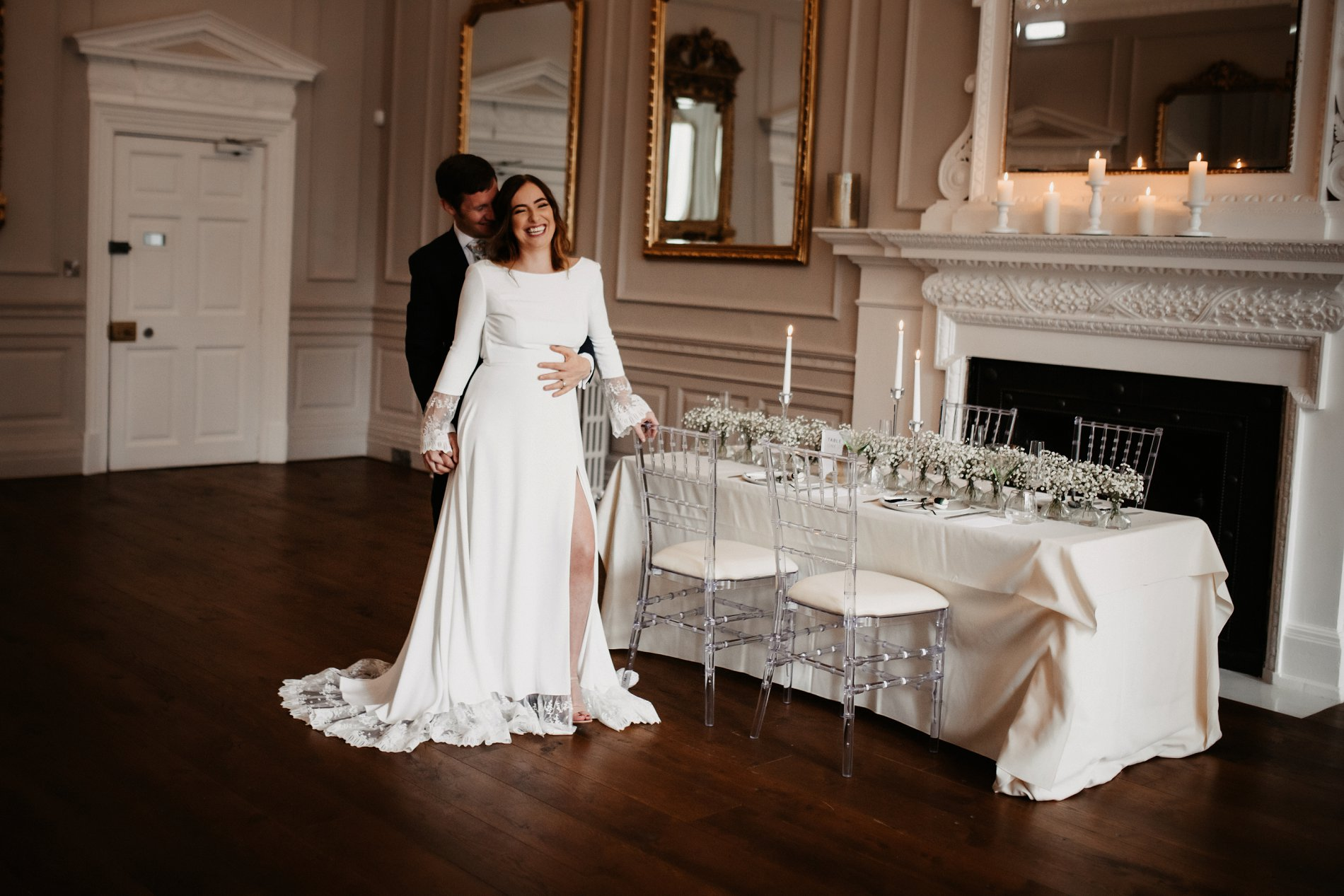 A Winter Micro Wedding Shoot at Bawtry Hall (c) Charlotte Nelson Photography (26)