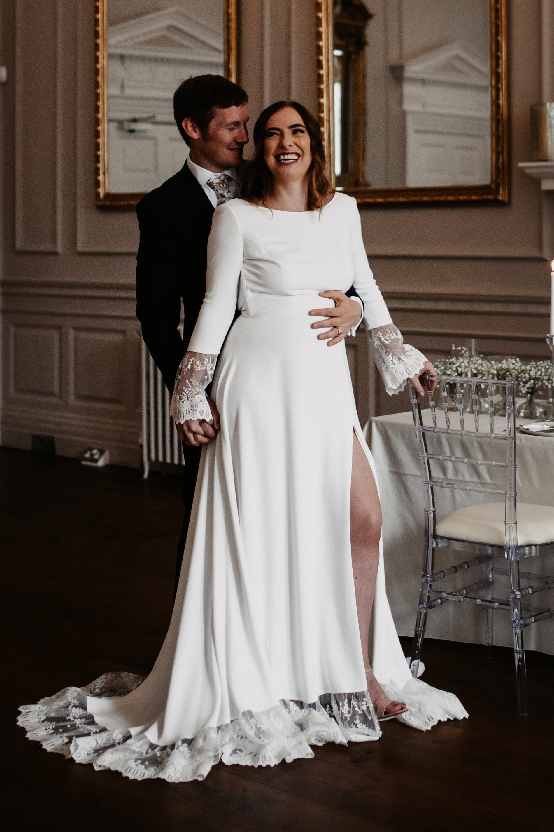 A Winter Micro Wedding Shoot at Bawtry Hall (c) Charlotte Nelson Photography (27)