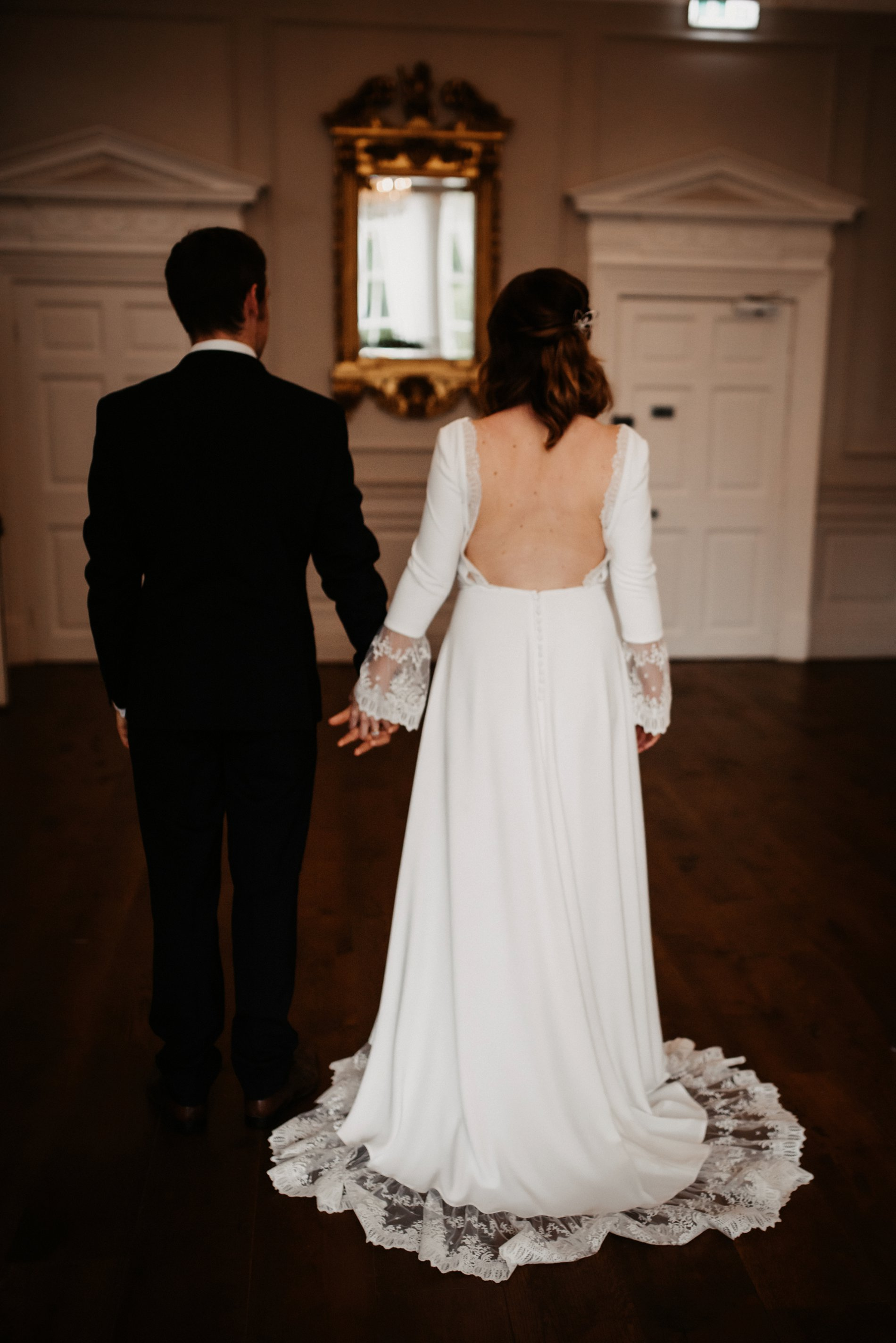 A Winter Micro Wedding Shoot at Bawtry Hall (c) Charlotte Nelson Photography (29)