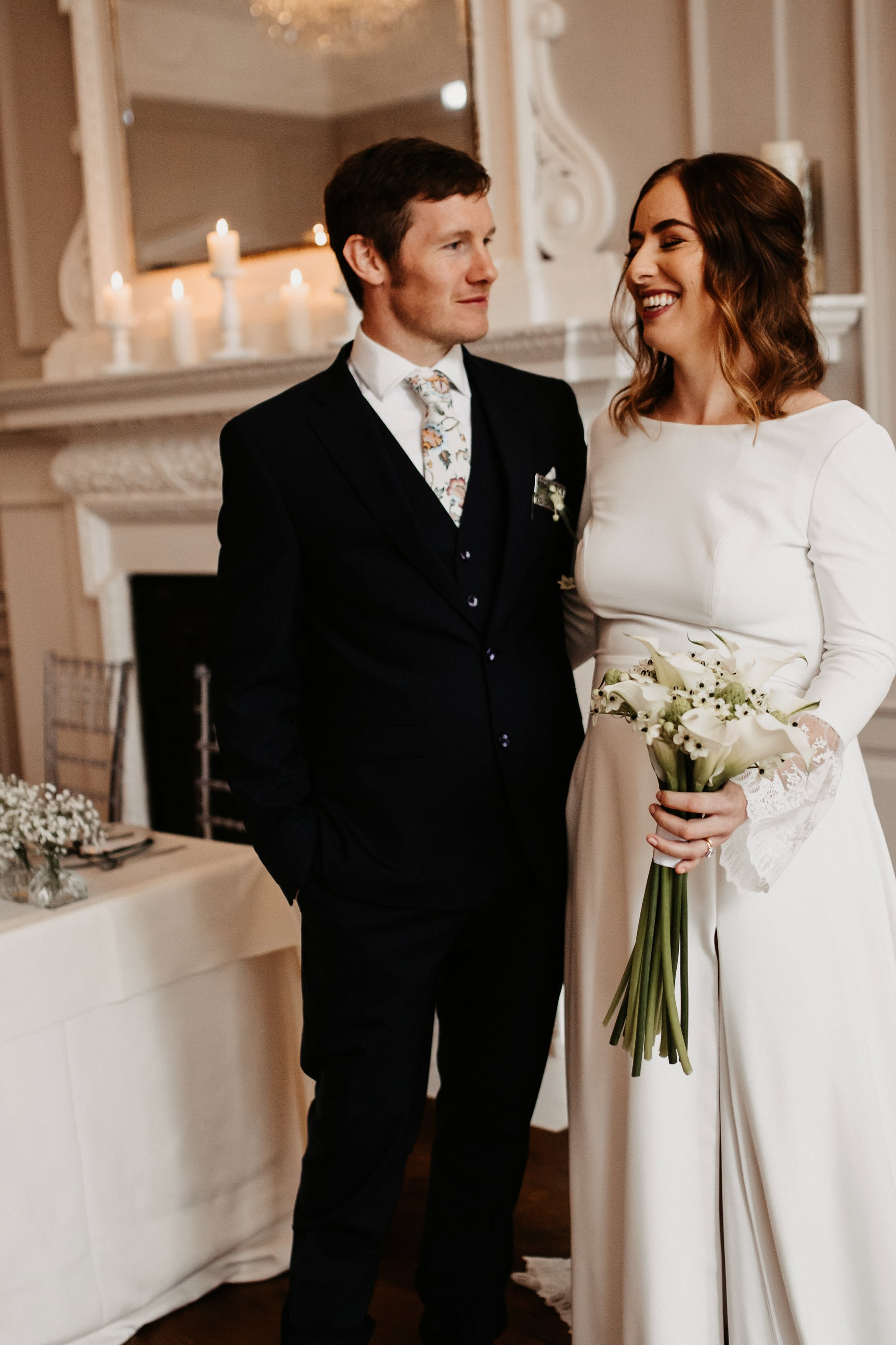 A Winter Micro Wedding Shoot at Bawtry Hall (c) Charlotte Nelson Photography (34)