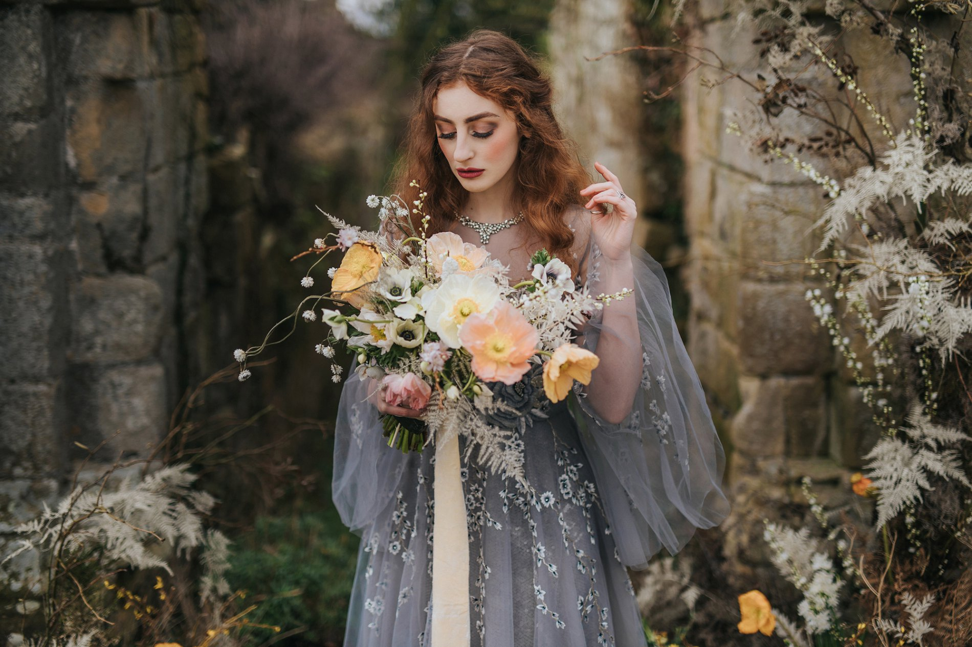 A Romantic Styled Shoot at Jervaulx Abbey (c) James Green Studio (14)