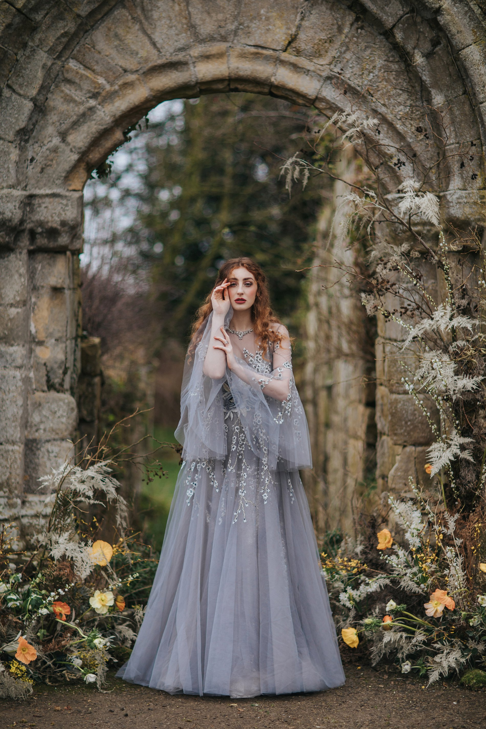 A Romantic Styled Shoot at Jervaulx Abbey (c) James Green Studio (3)