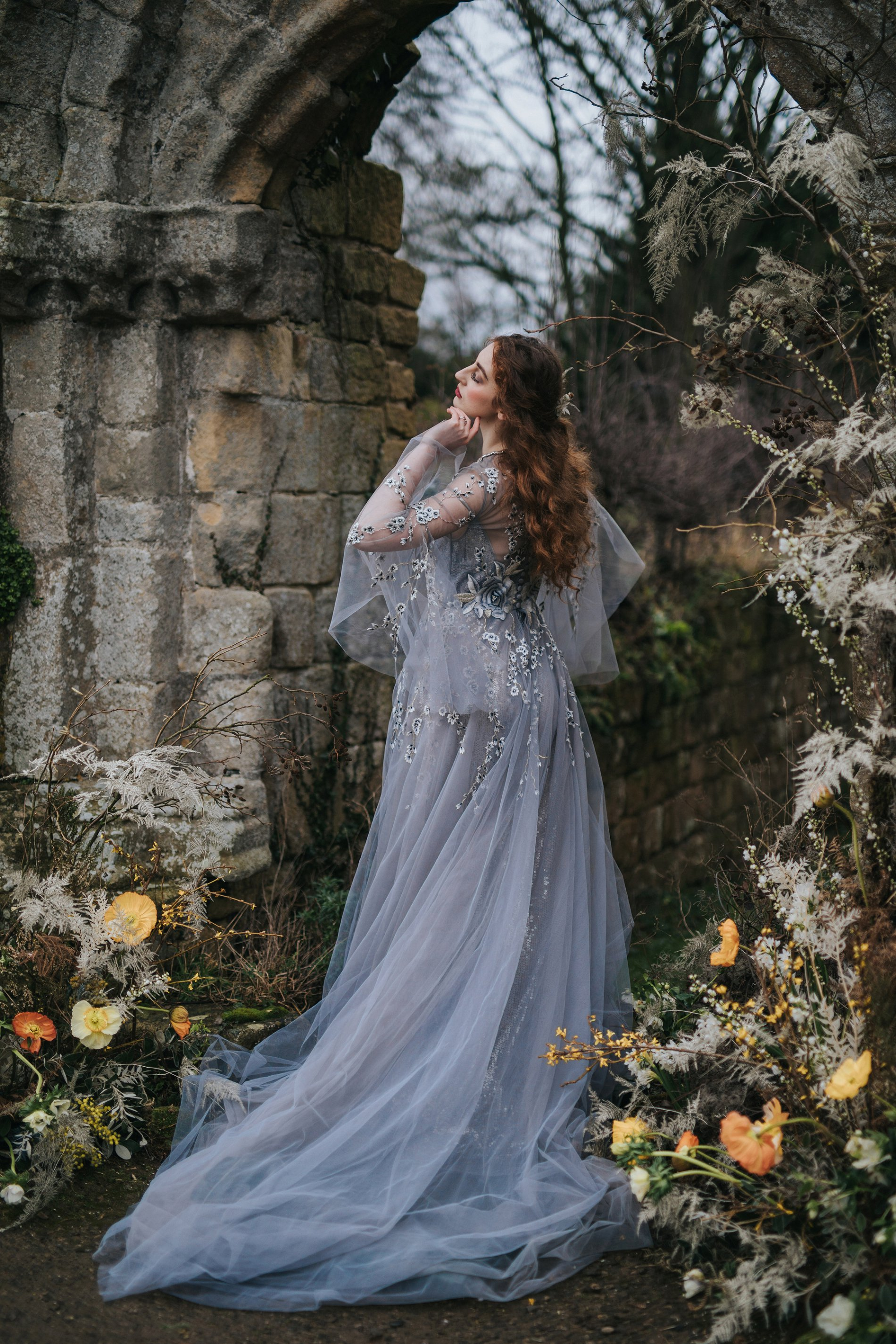 A Romantic Styled Shoot at Jervaulx Abbey (c) James Green Studio (30)