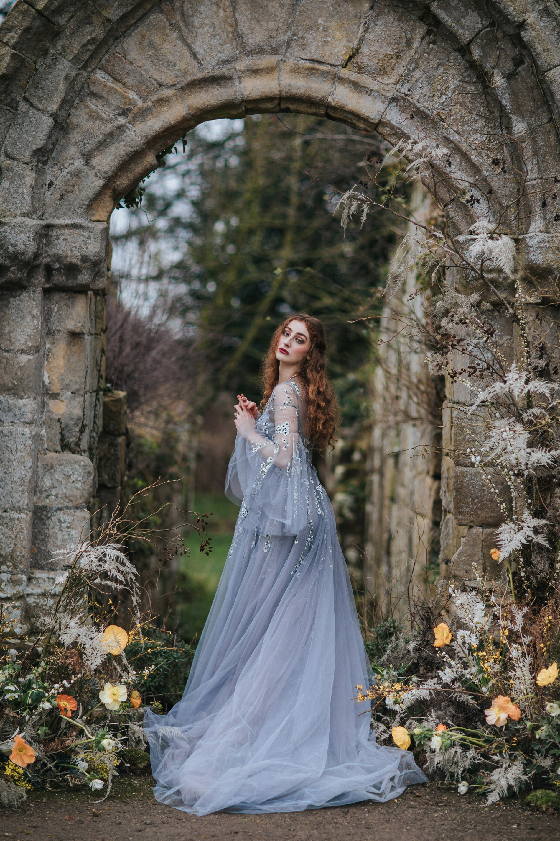 A Romantic Styled Shoot at Jervaulx Abbey (c) James Green Studio (31)