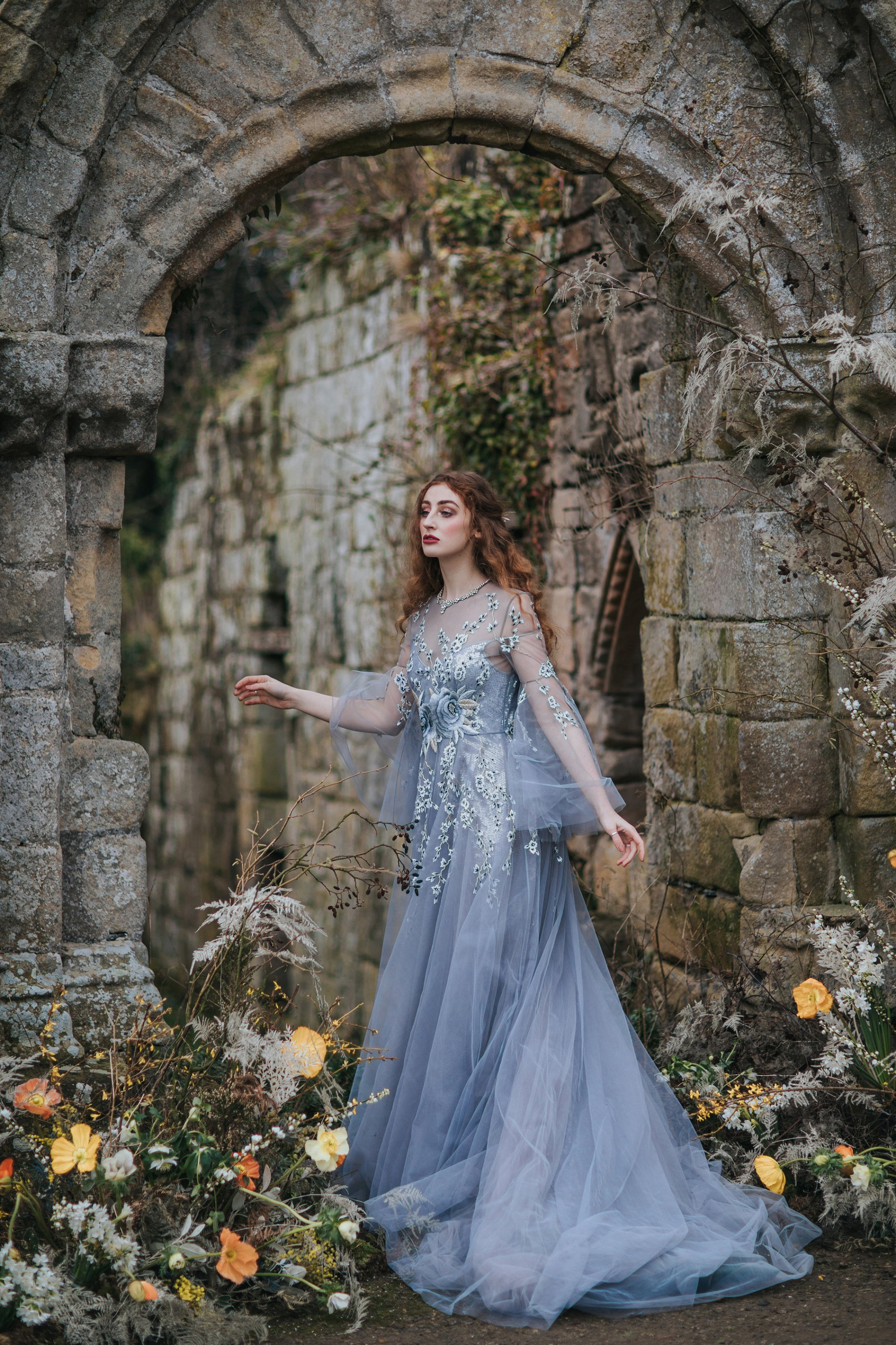 A Romantic Styled Shoot at Jervaulx Abbey (c) James Green Studio (33)