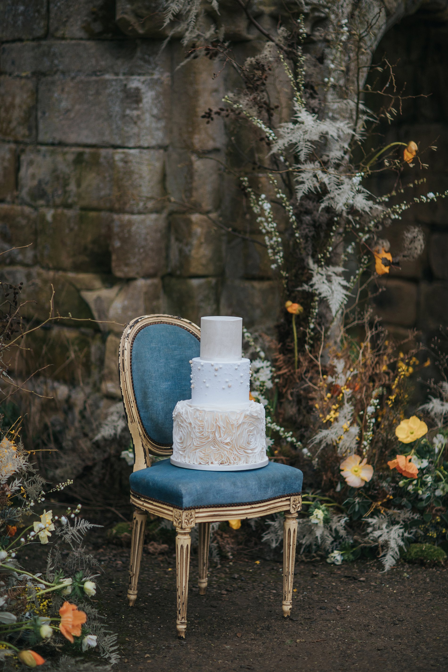 A Romantic Styled Shoot at Jervaulx Abbey (c) James Green Studio (36)