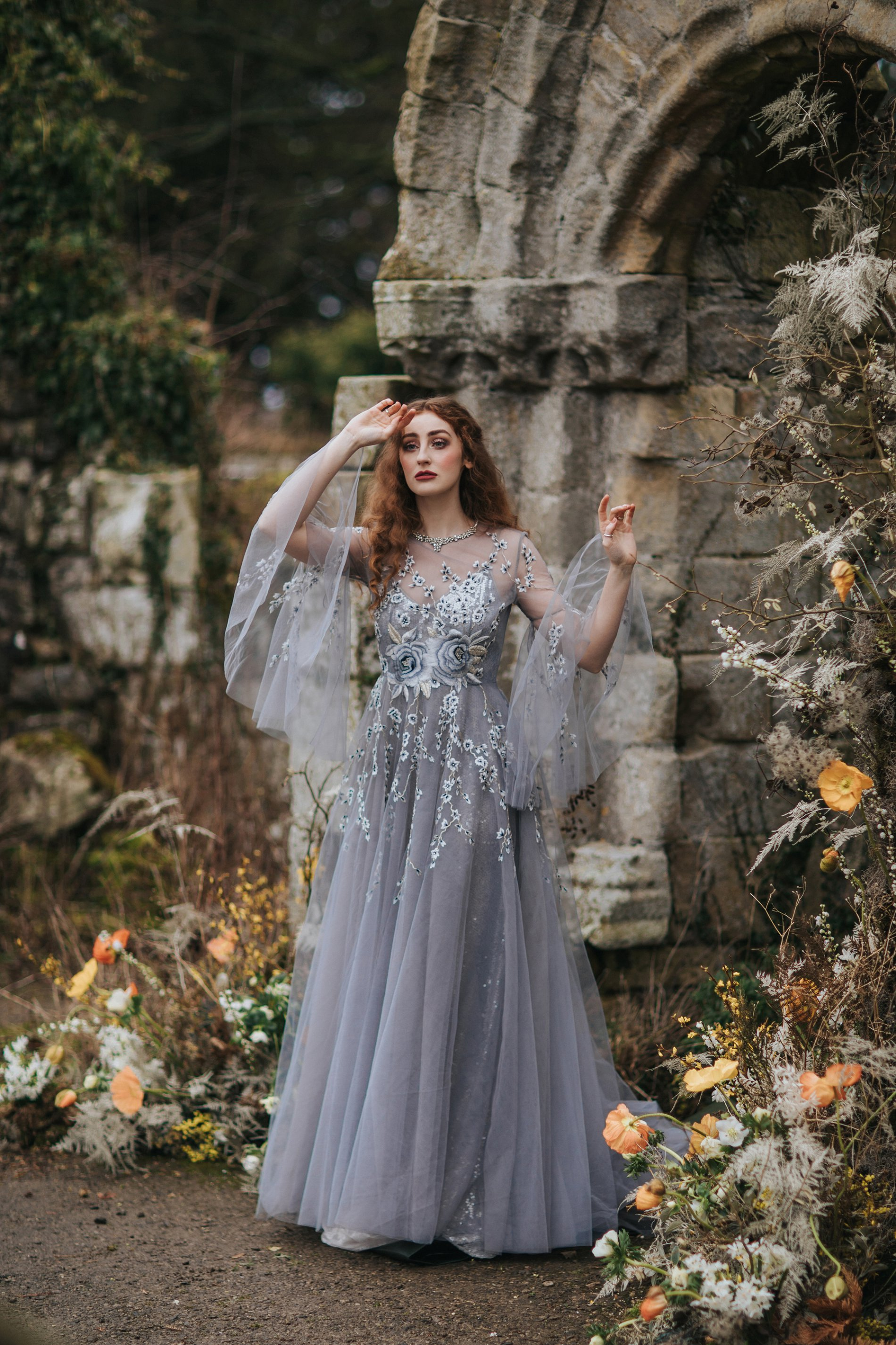 A Romantic Styled Shoot at Jervaulx Abbey (c) James Green Studio (4)