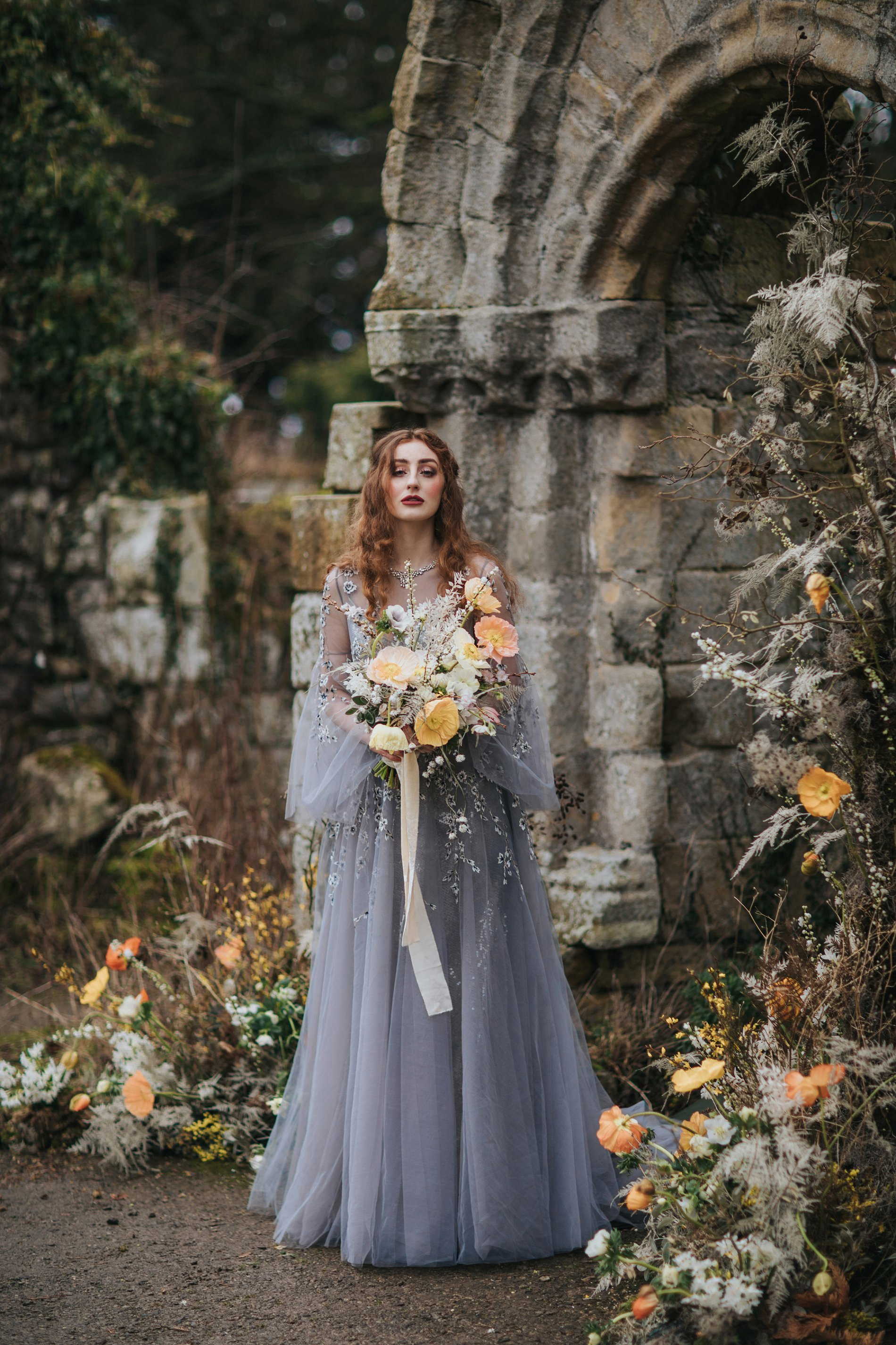 A Romantic Styled Shoot at Jervaulx Abbey (c) James Green Studio (5)