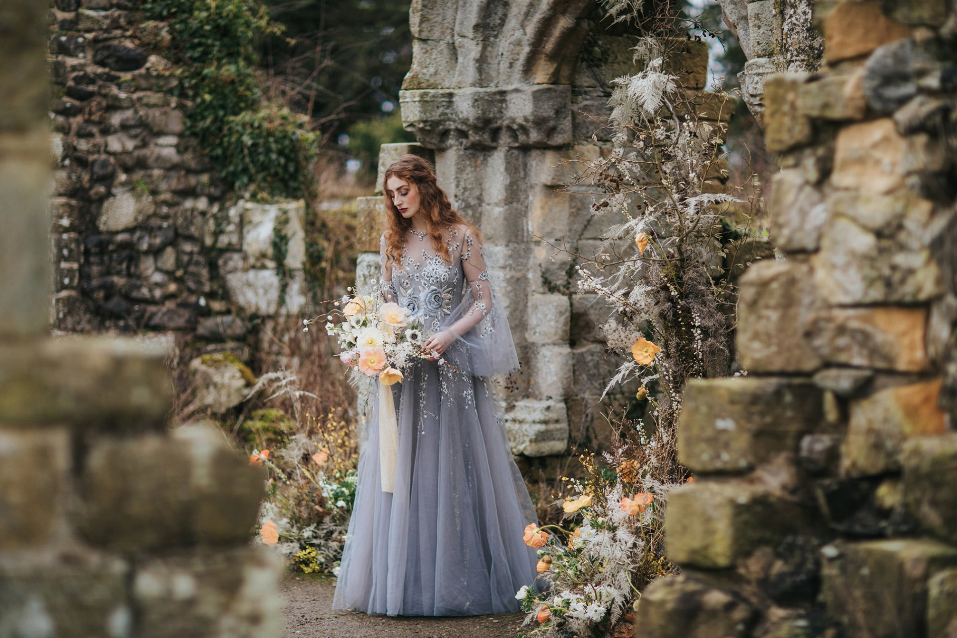 A Romantic Styled Shoot at Jervaulx Abbey (c) James Green Studio (6)