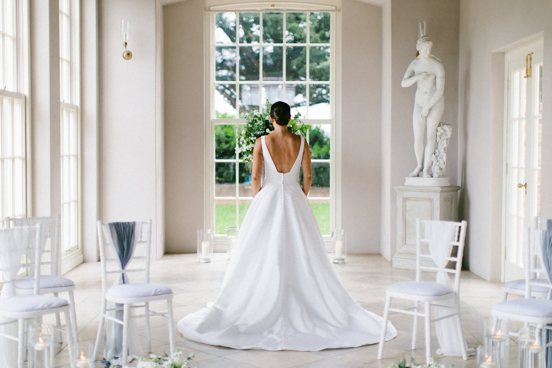 An Intimate Fine Art Wedding Shoot at Newby Hall (c) Melissa Beattie Photography (2)