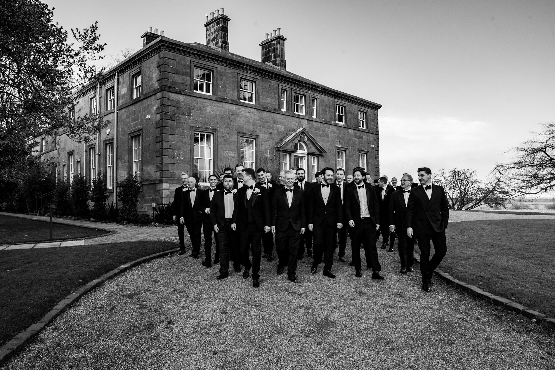 A Black Tie Wedding at Charlton Hall (c) Lee Scullion (126)