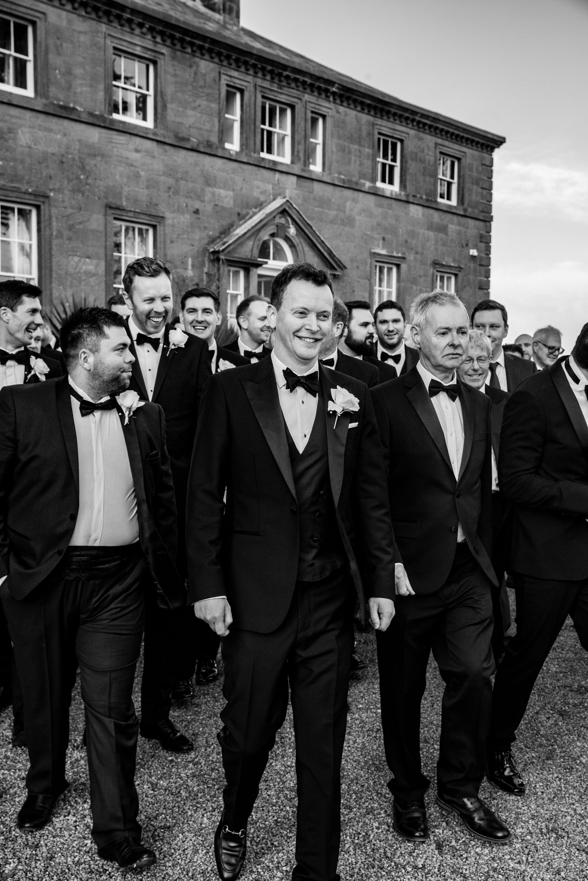 A Black Tie Wedding at Charlton Hall (c) Lee Scullion (127)