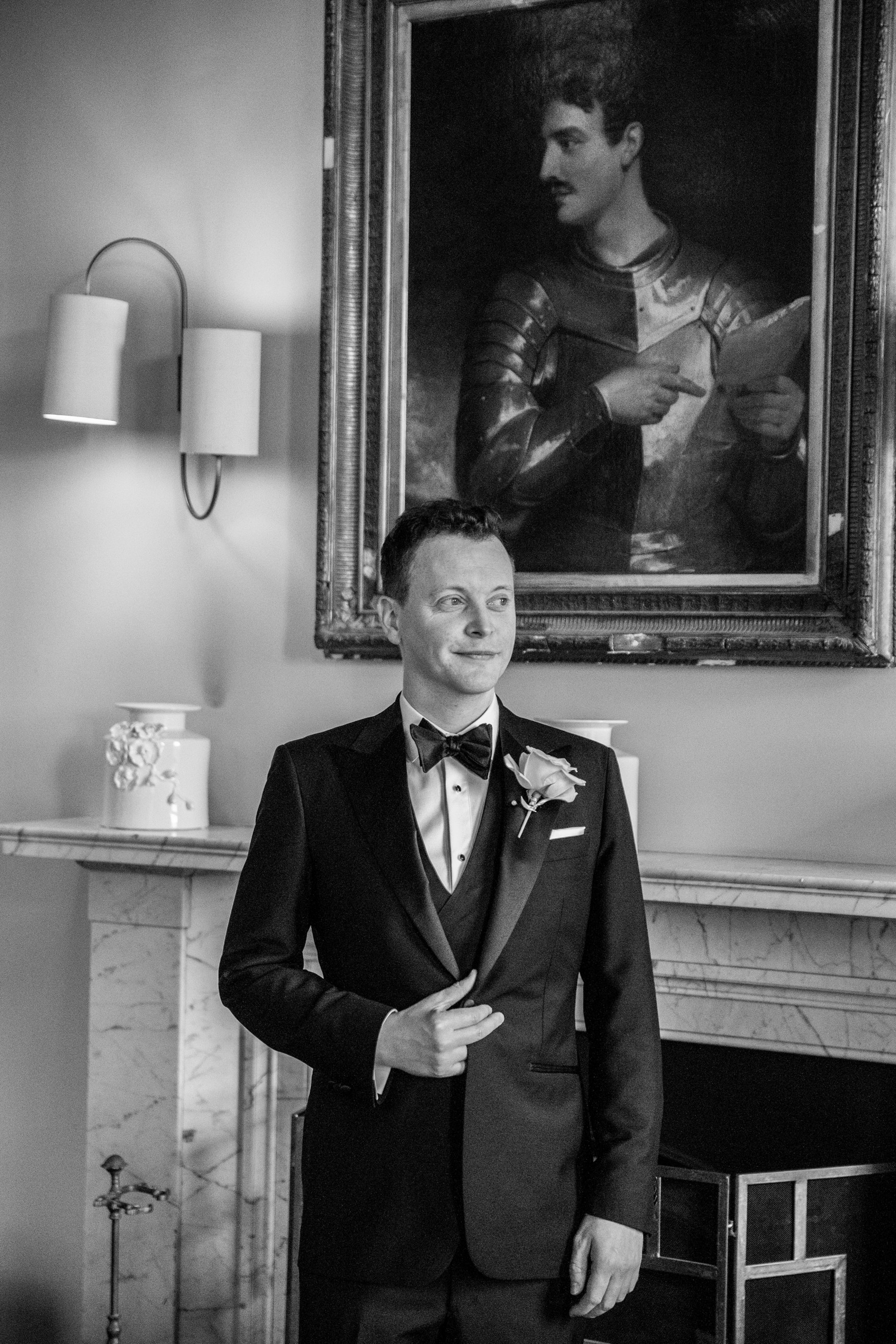 A Black Tie Wedding at Charlton Hall (c) Lee Scullion (40)