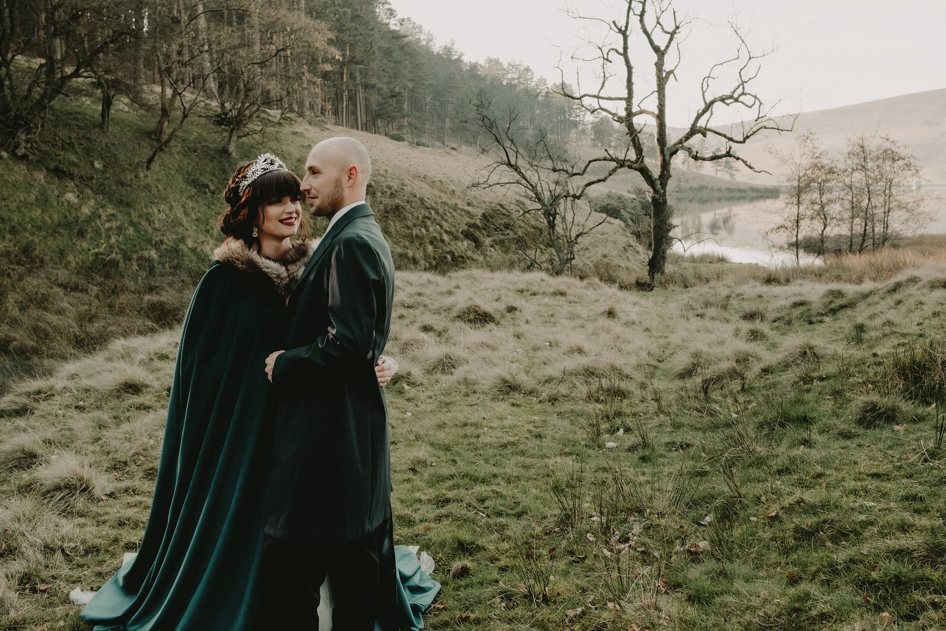 An Ethereal Winter Wedding Styled Shoot (c) Caroline Goosey Photography (22)