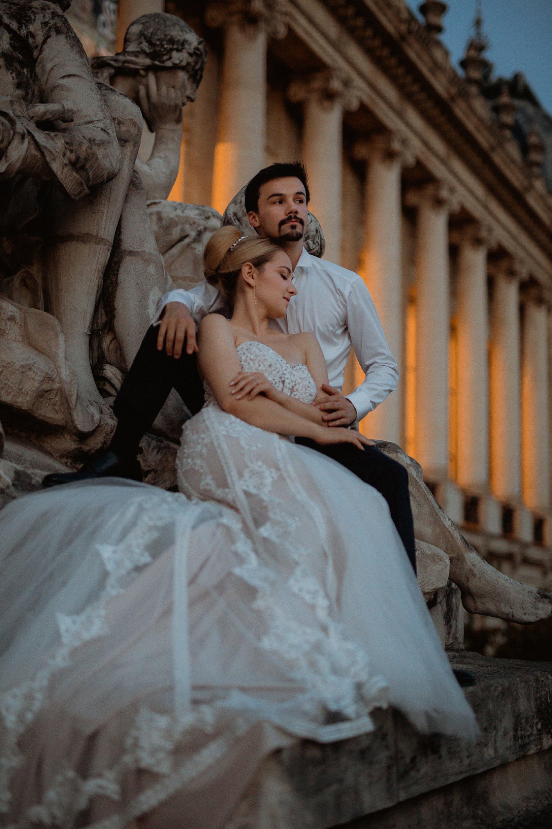 Miss He Bridal Romantic Paris Elopement (c) Xanthe Rowland Photography (48)