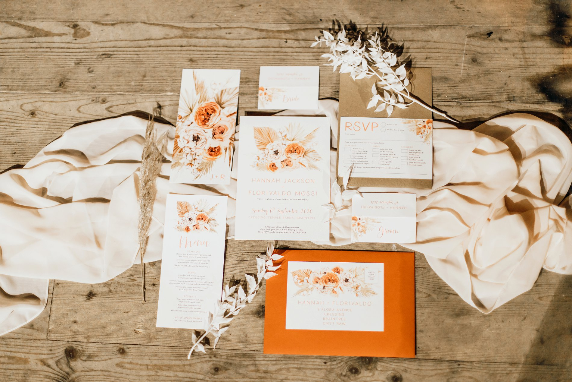 A Golden Boho Wedding Shoot at Cressing Temple Barns (c) Kate Boston Photography (1)
