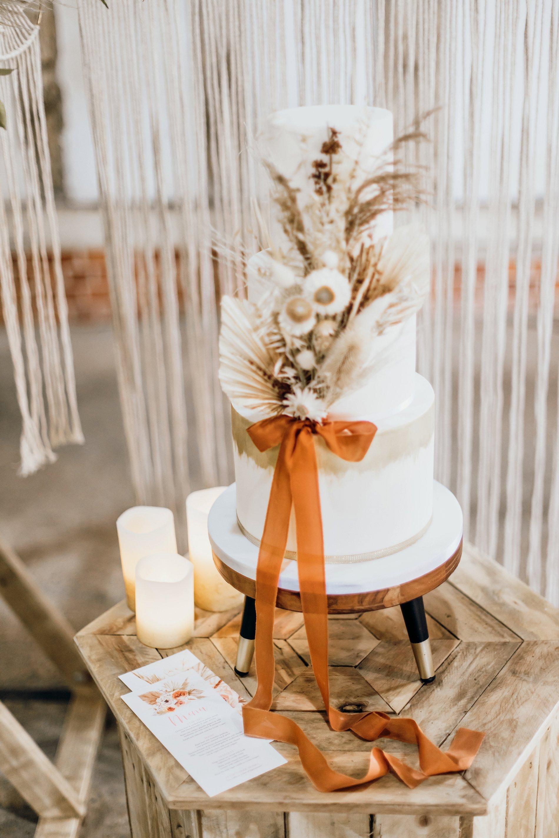 A Golden Boho Wedding Shoot at Cressing Temple Barns (c) Kate Boston Photography (25)