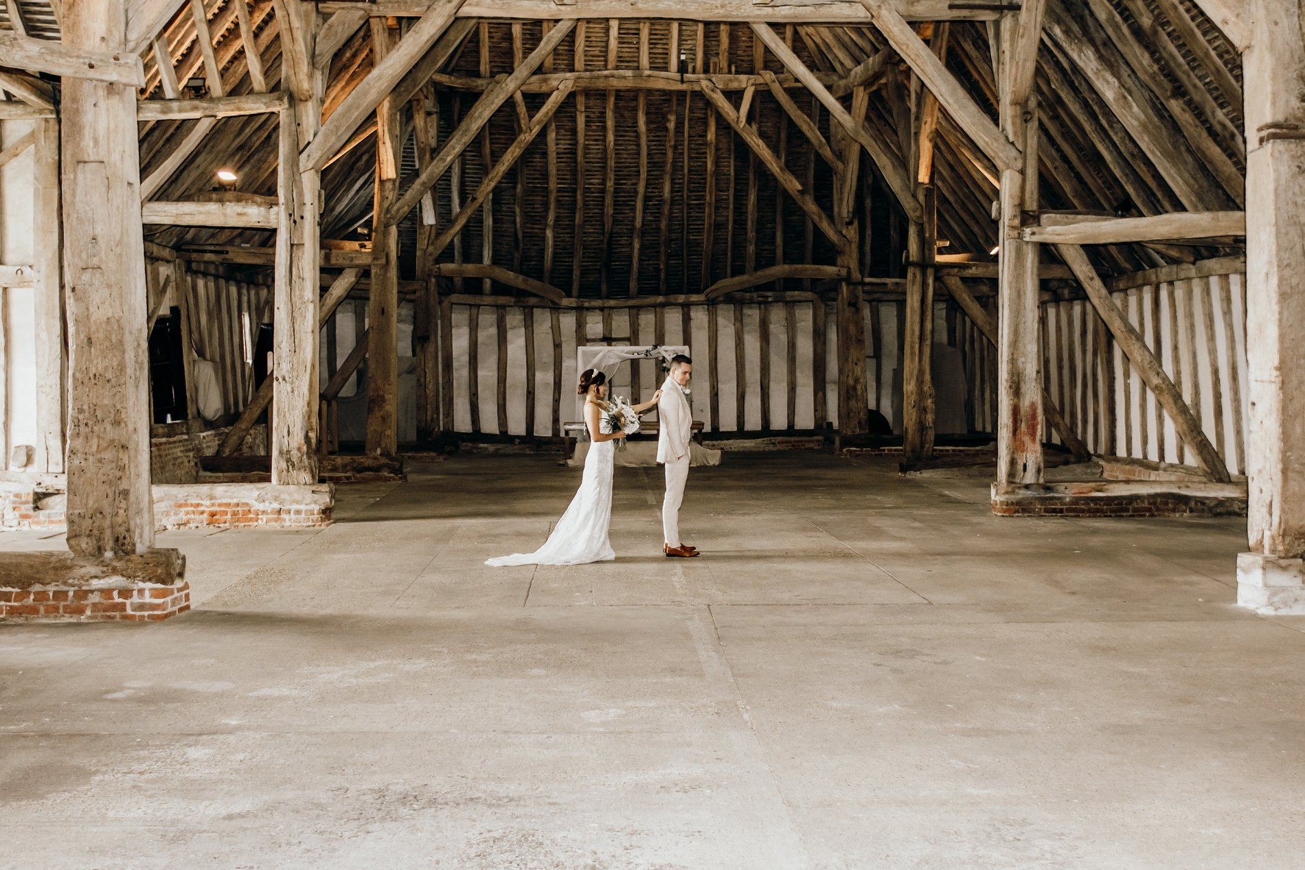 A Golden Boho Wedding Shoot at Cressing Temple Barns (c) Kate Boston Photography (35)