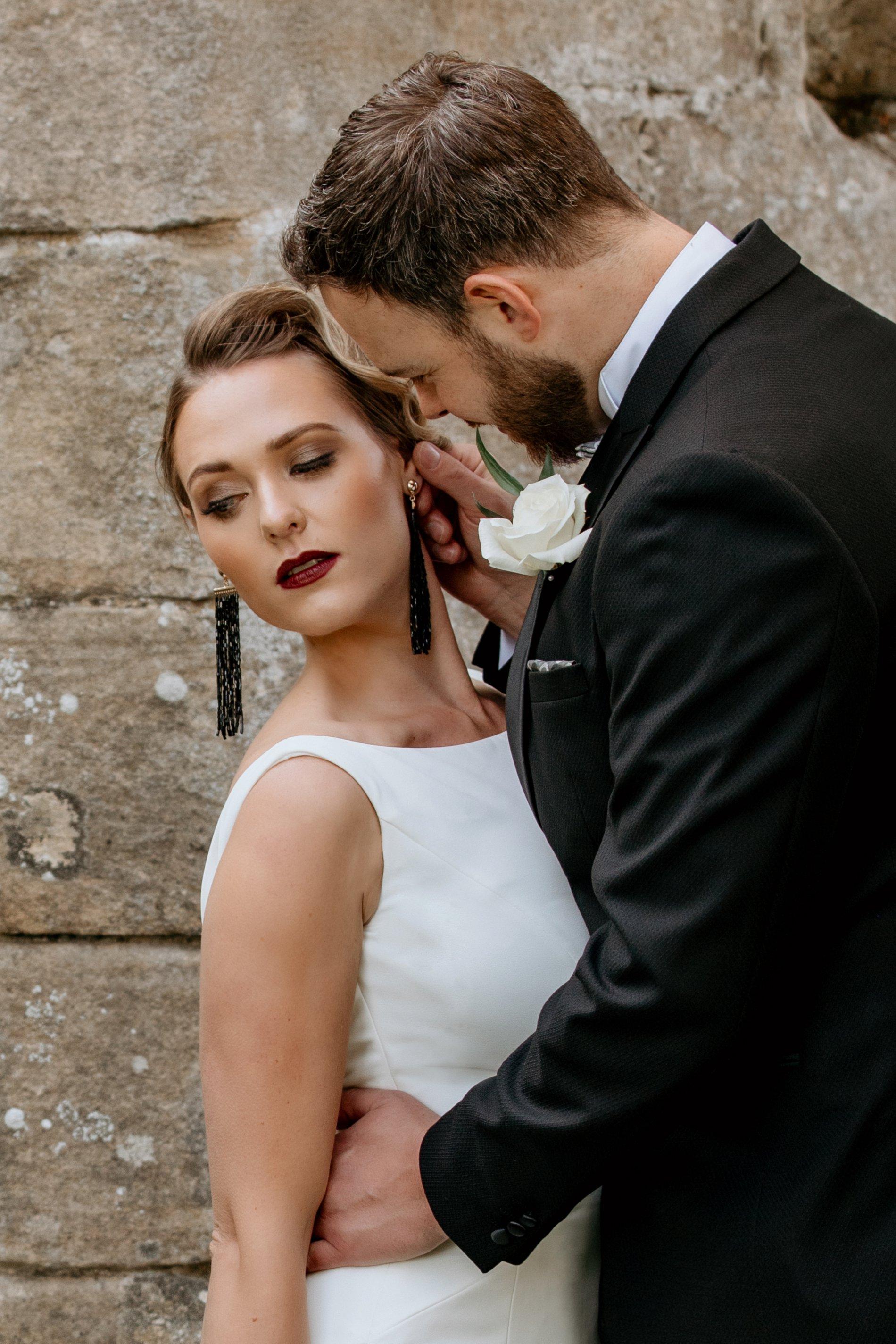 An Elegant Wedding Shoot at Jervaulx Abbey (c) Natalie Hamilton Photography (1)