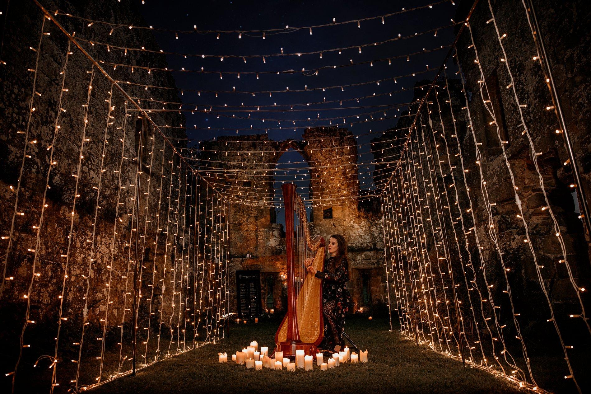 An Elegant Wedding Shoot at Jervaulx Abbey (c) Natalie Hamilton Photography (100)