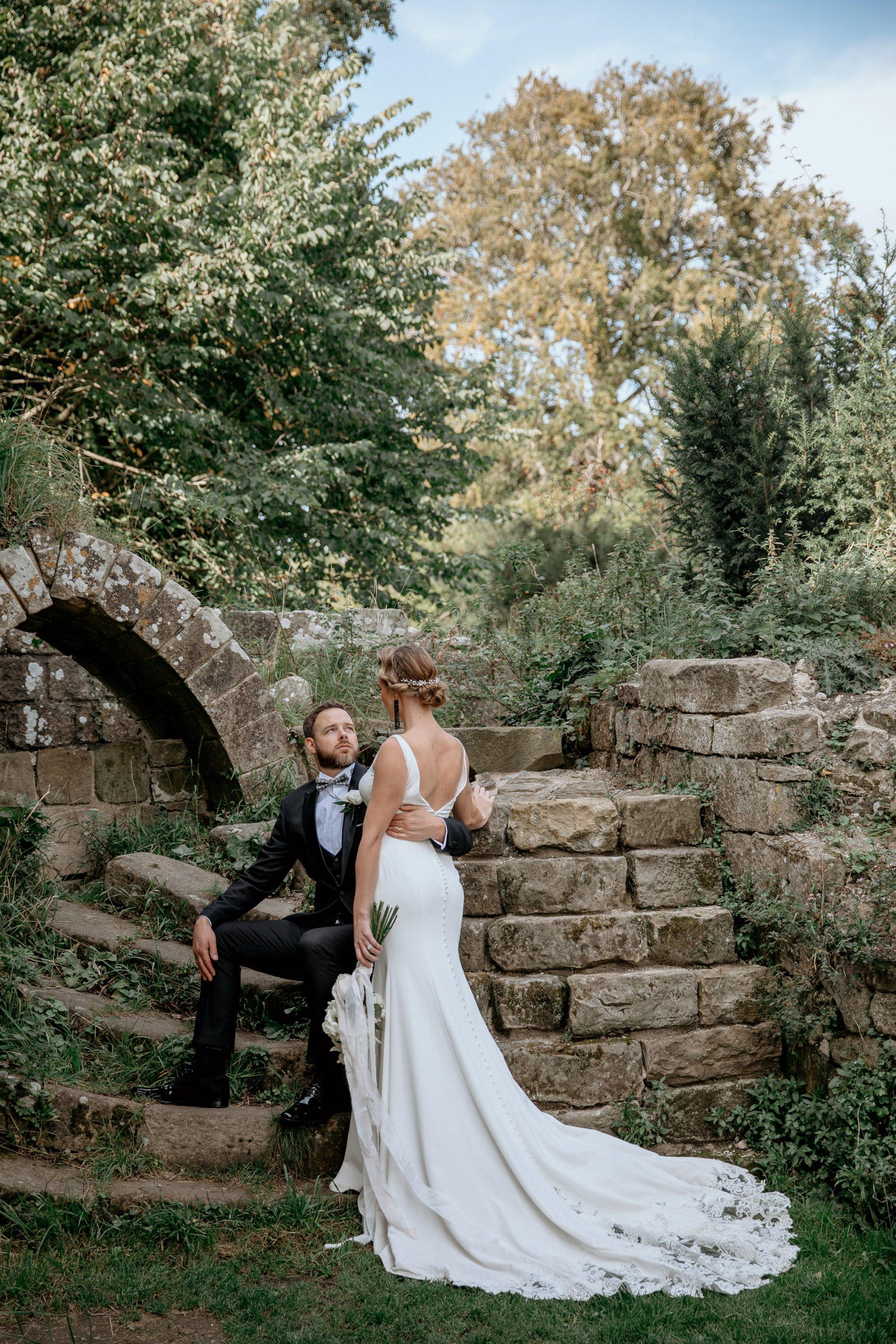 An Elegant Wedding Shoot at Jervaulx Abbey (c) Natalie Hamilton Photography (14)