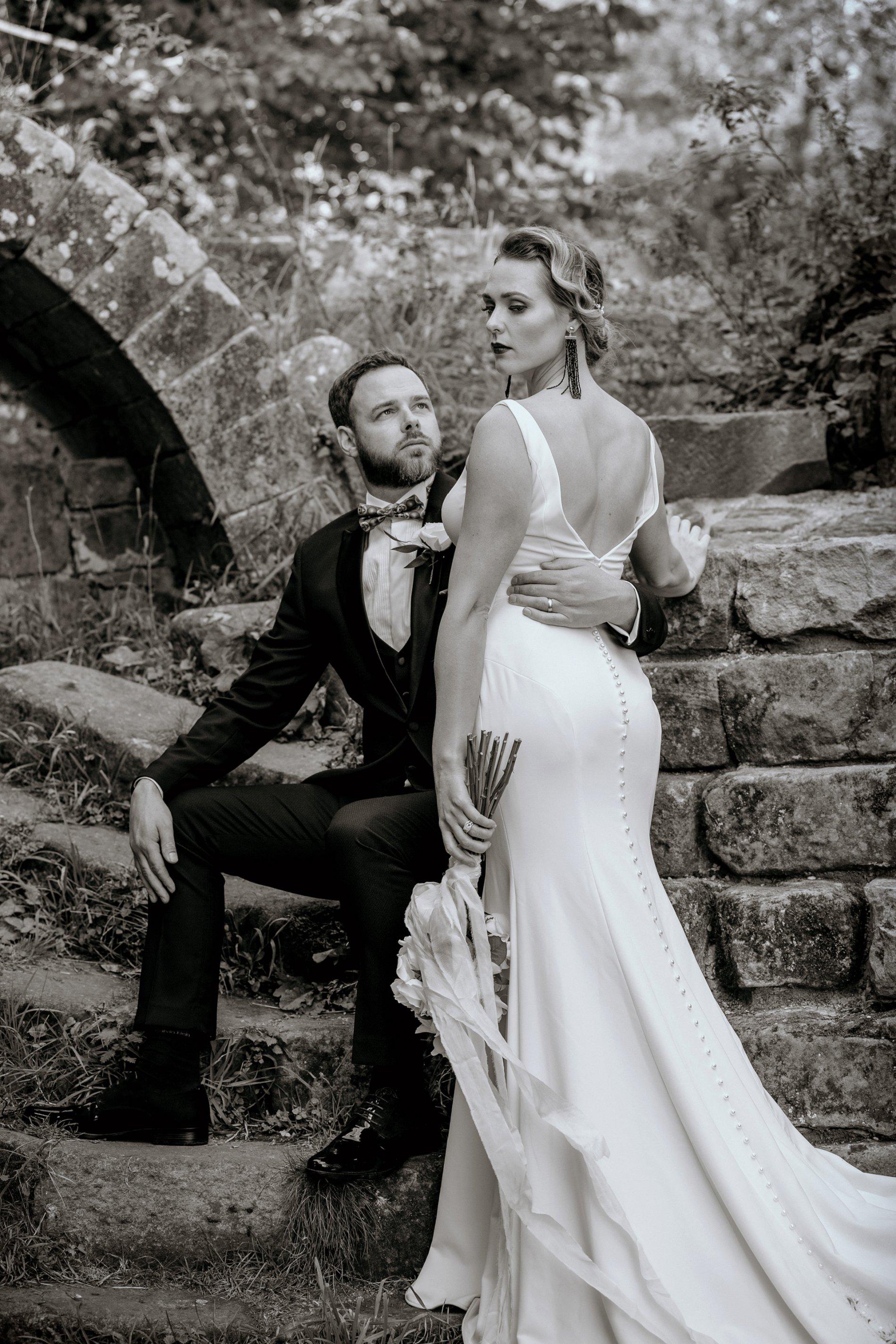 An Elegant Wedding Shoot at Jervaulx Abbey (c) Natalie Hamilton Photography (15)