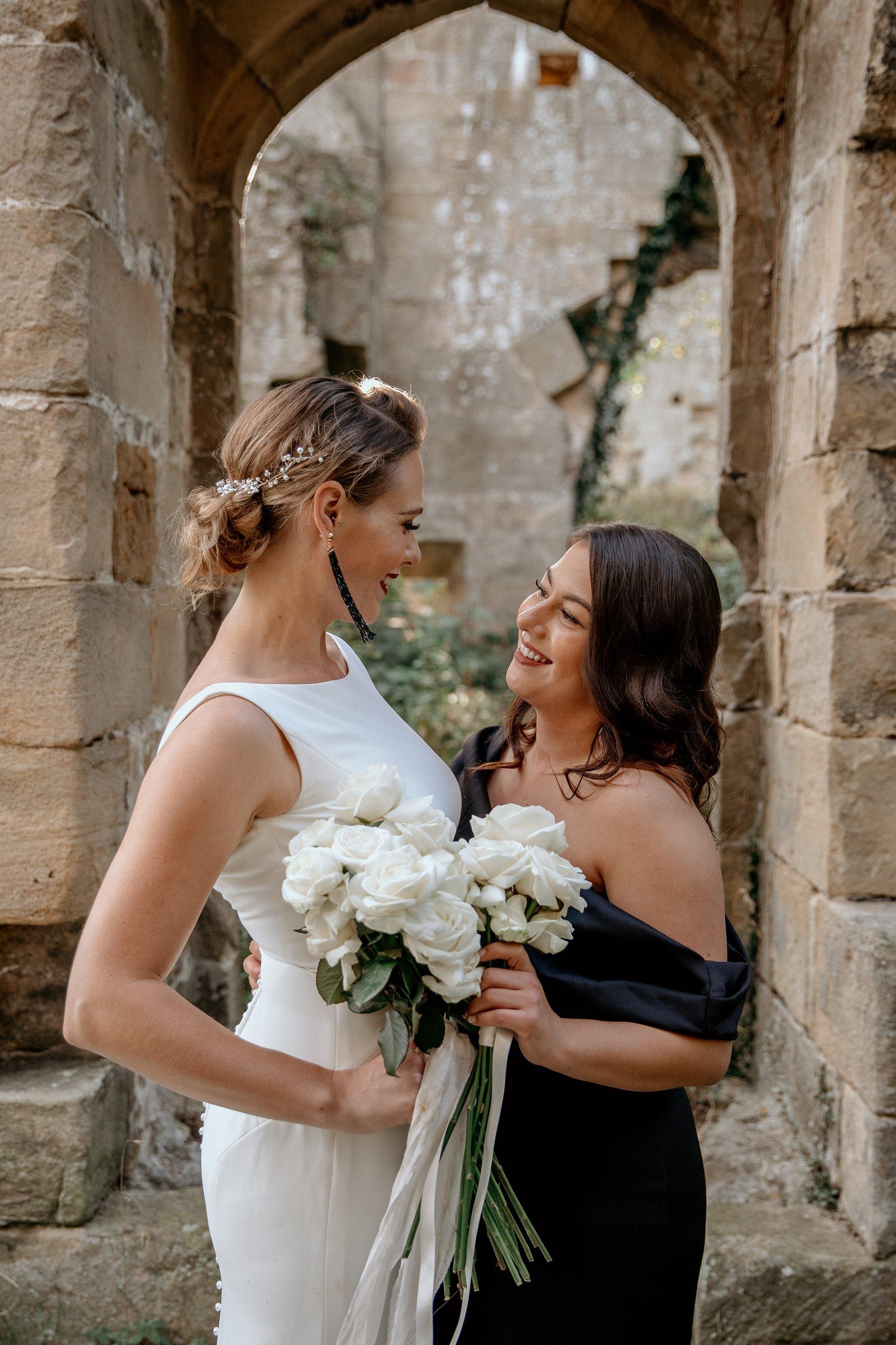 An Elegant Wedding Shoot at Jervaulx Abbey (c) Natalie Hamilton Photography (58)